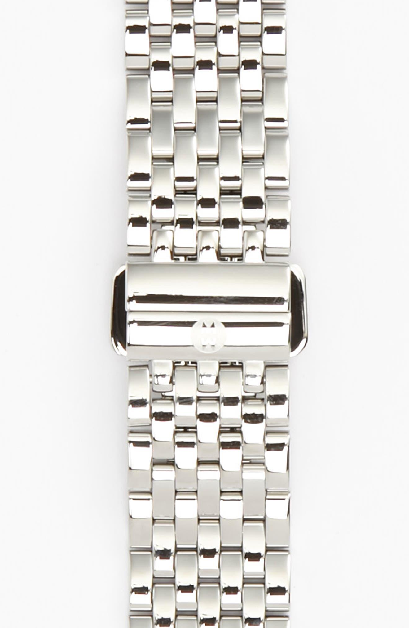 Serein 16 16mm Bracelet Watchband,                         Main,                         color, SILVER