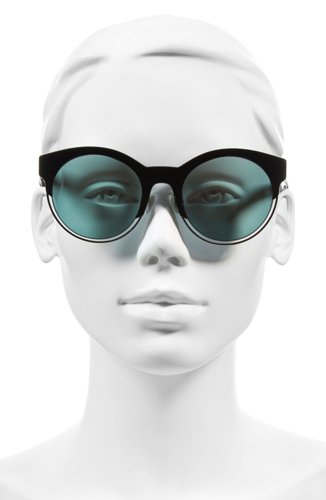 Siderall 1 53mm Round Sunglasses,                             Alternate thumbnail 12, color,