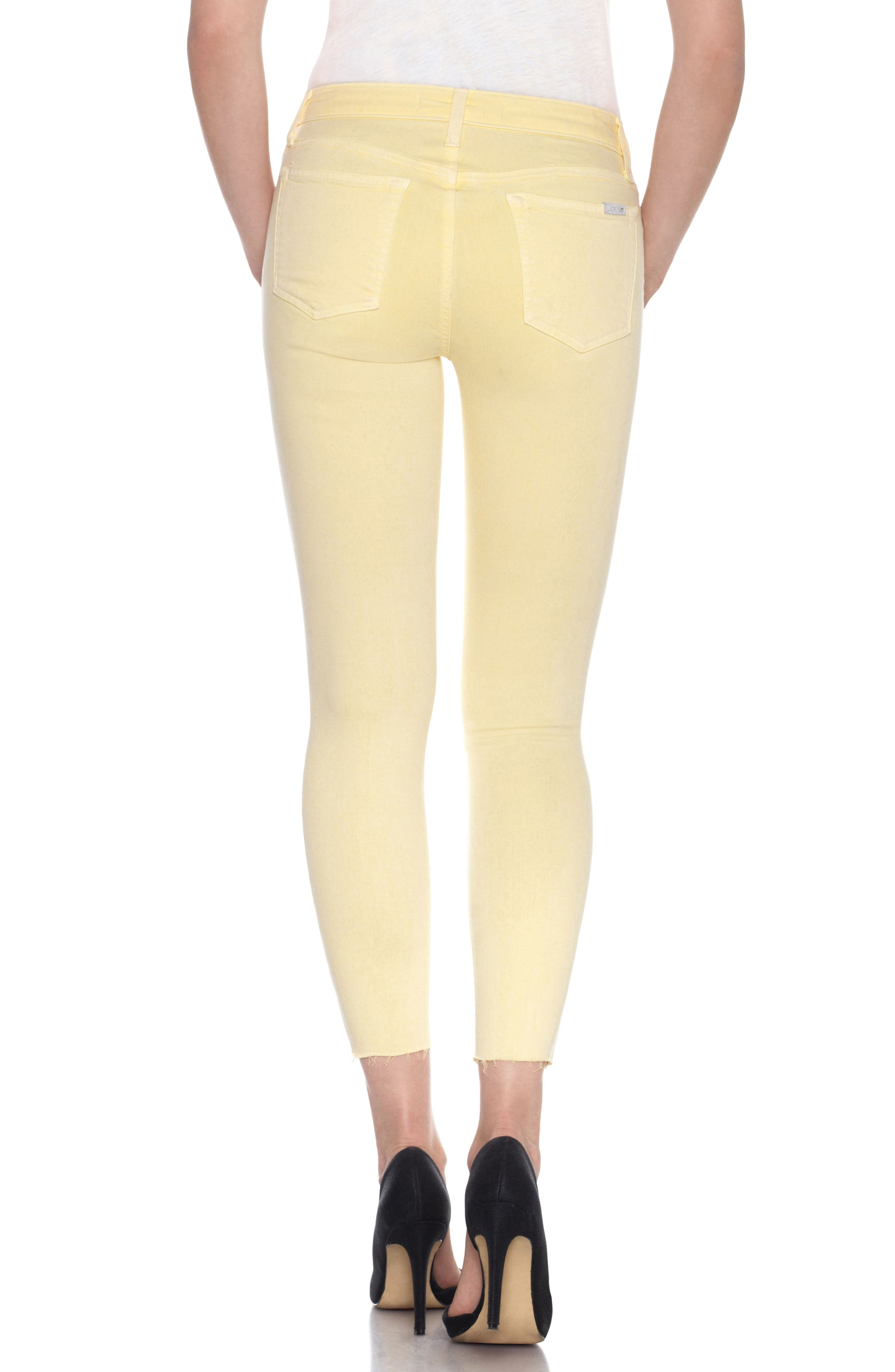 Charlie High Rise Ankle Skinny Jeans,                             Alternate thumbnail 20, color,