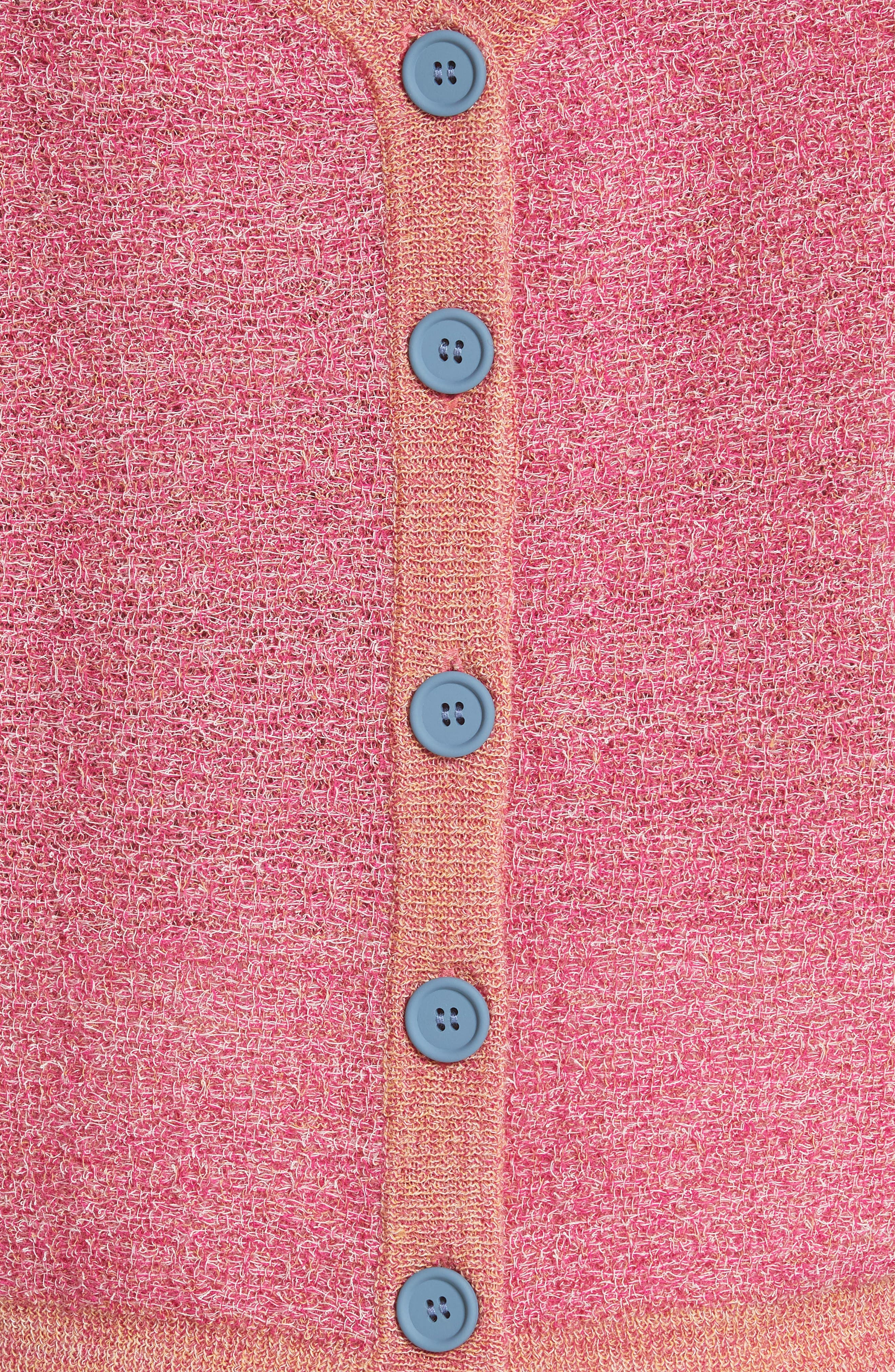 Imlay Wool Backwards Cardigan,                             Alternate thumbnail 5, color,                             HELICONIA