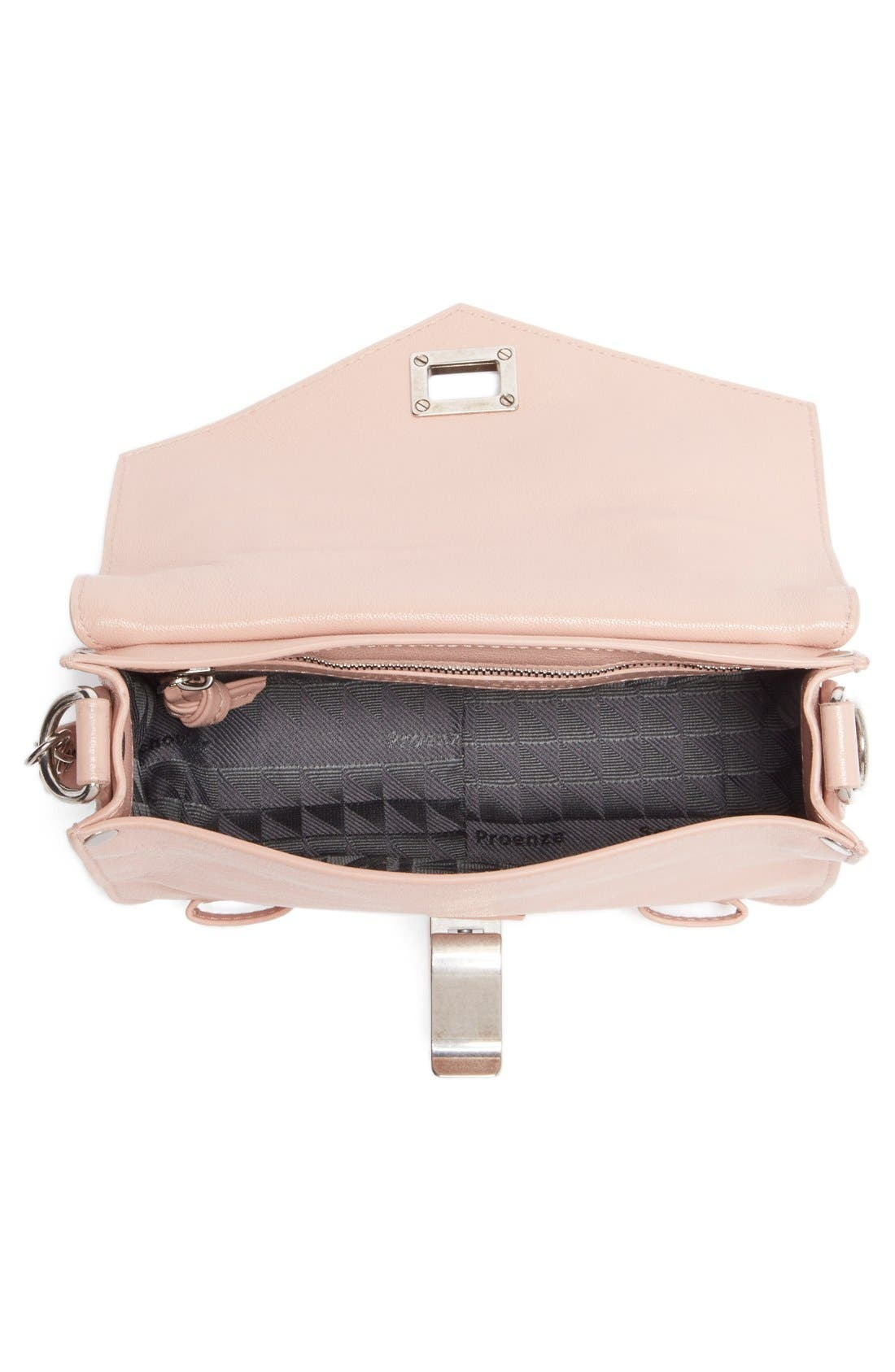 'Mini PS1' Lambskin Leather Crossbody Bag,                             Alternate thumbnail 11, color,