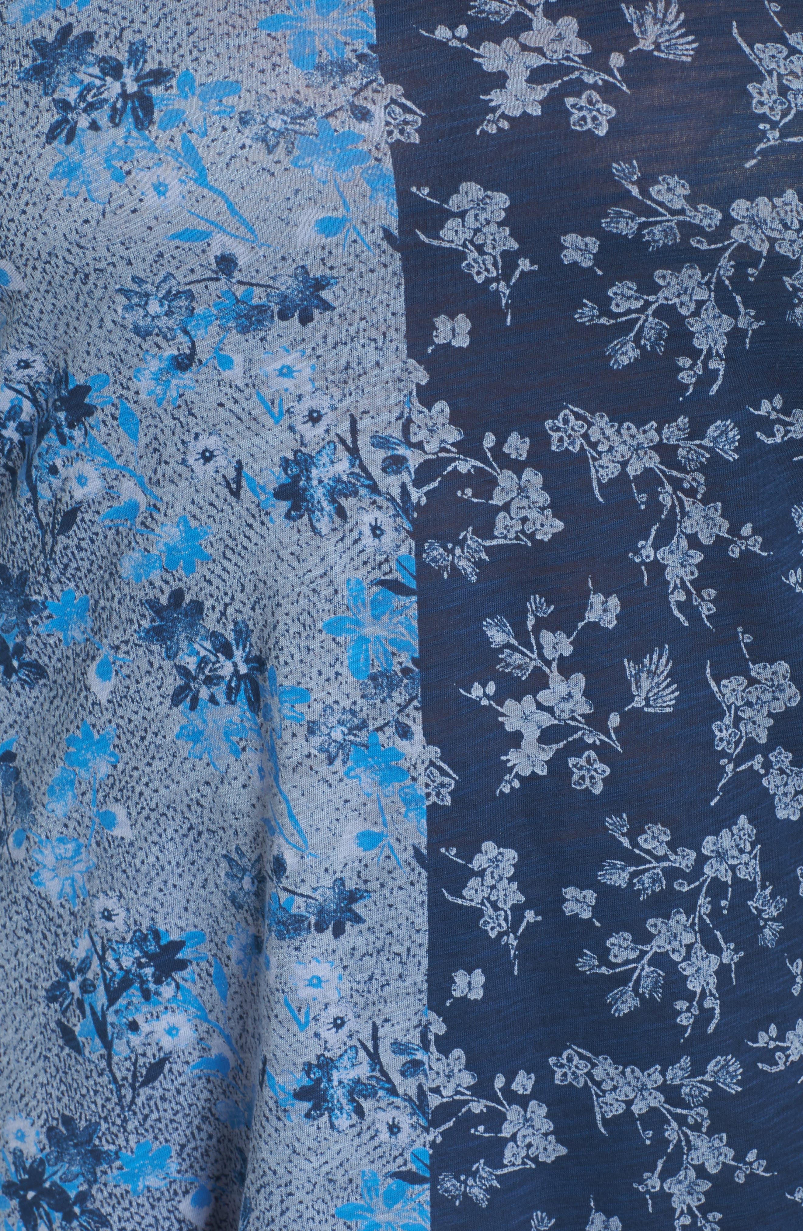 Madeline Floral Top,                             Alternate thumbnail 5, color,                             460
