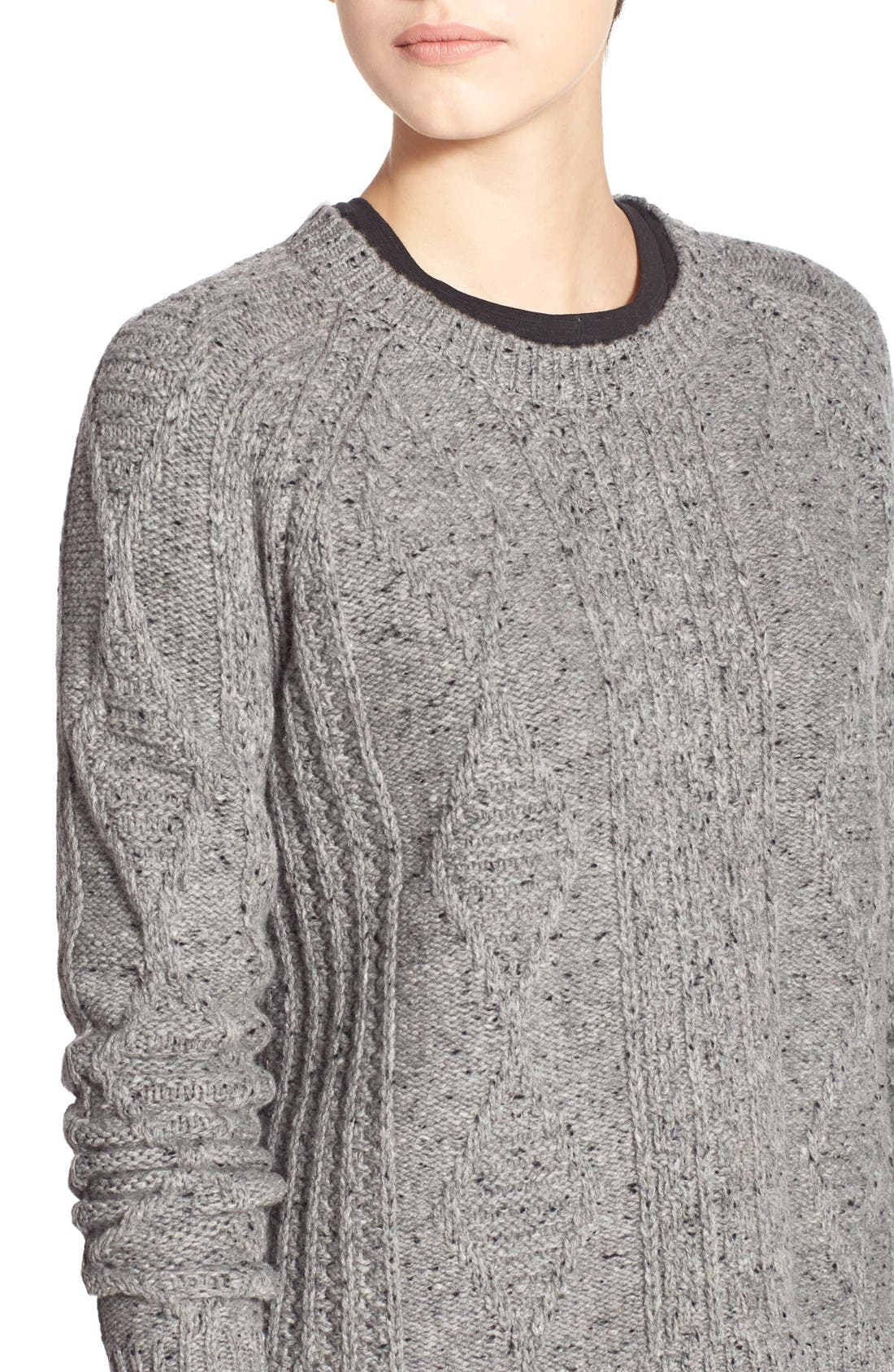MADEWELL,                             'Palisade' Back Zip Sweater,                             Alternate thumbnail 5, color,                             020