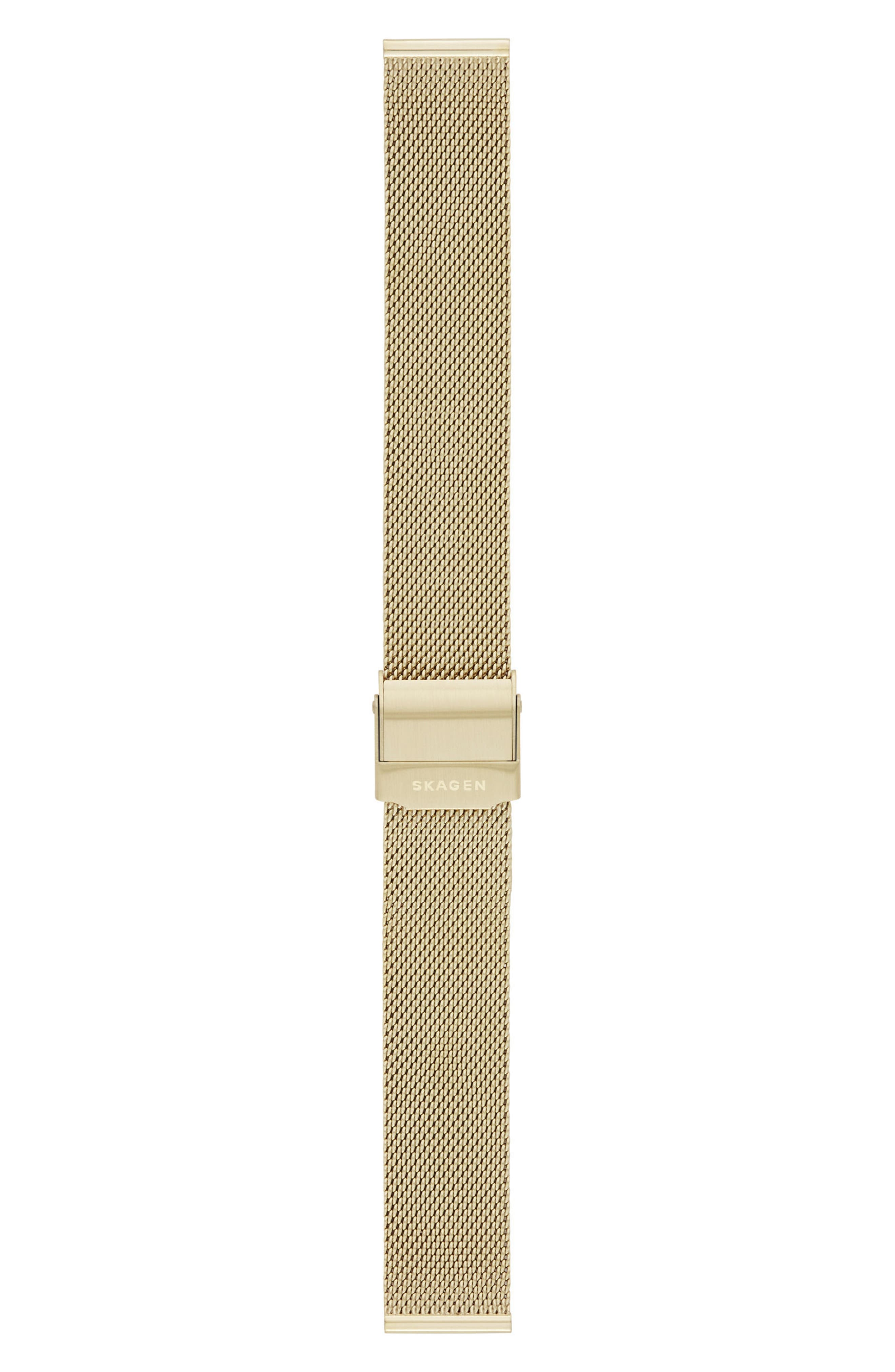 Mesh Watch Strap, 16mm,                             Alternate thumbnail 2, color,                             710