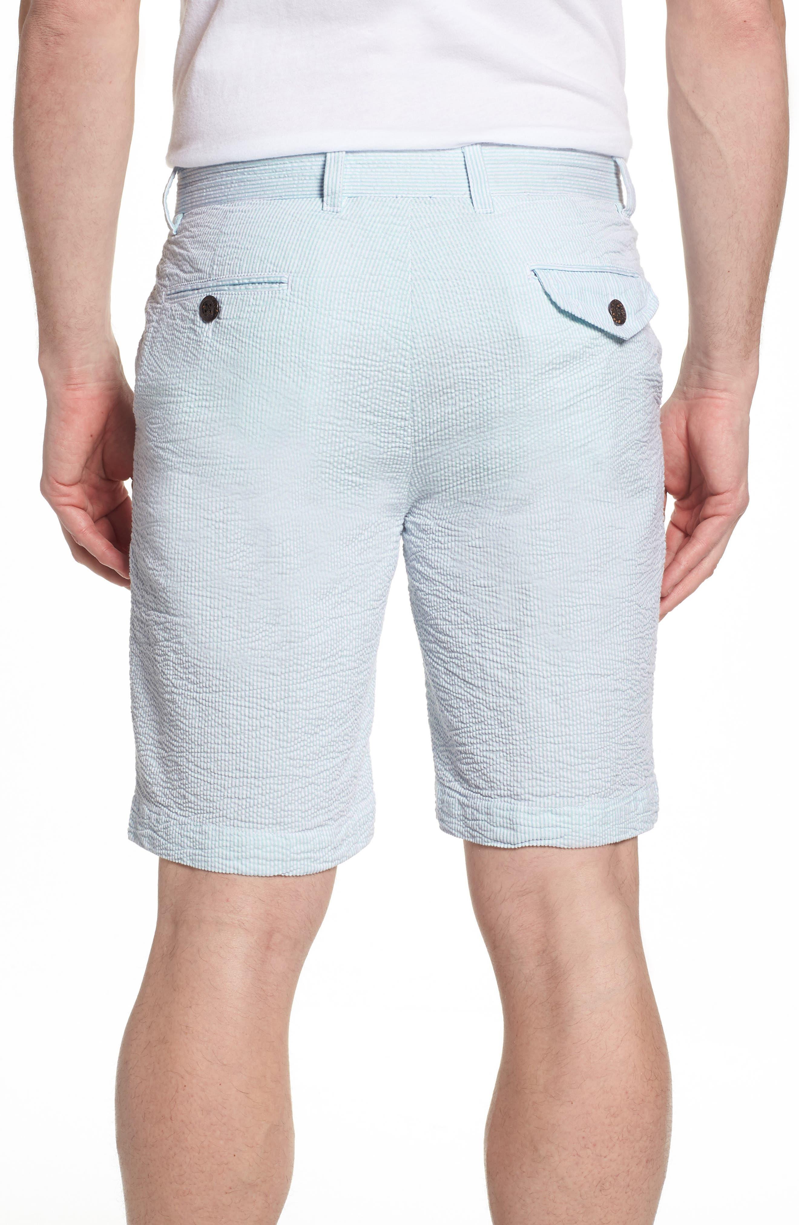 Vintage Wash Seersucker Shorts,                             Alternate thumbnail 2, color,                             450