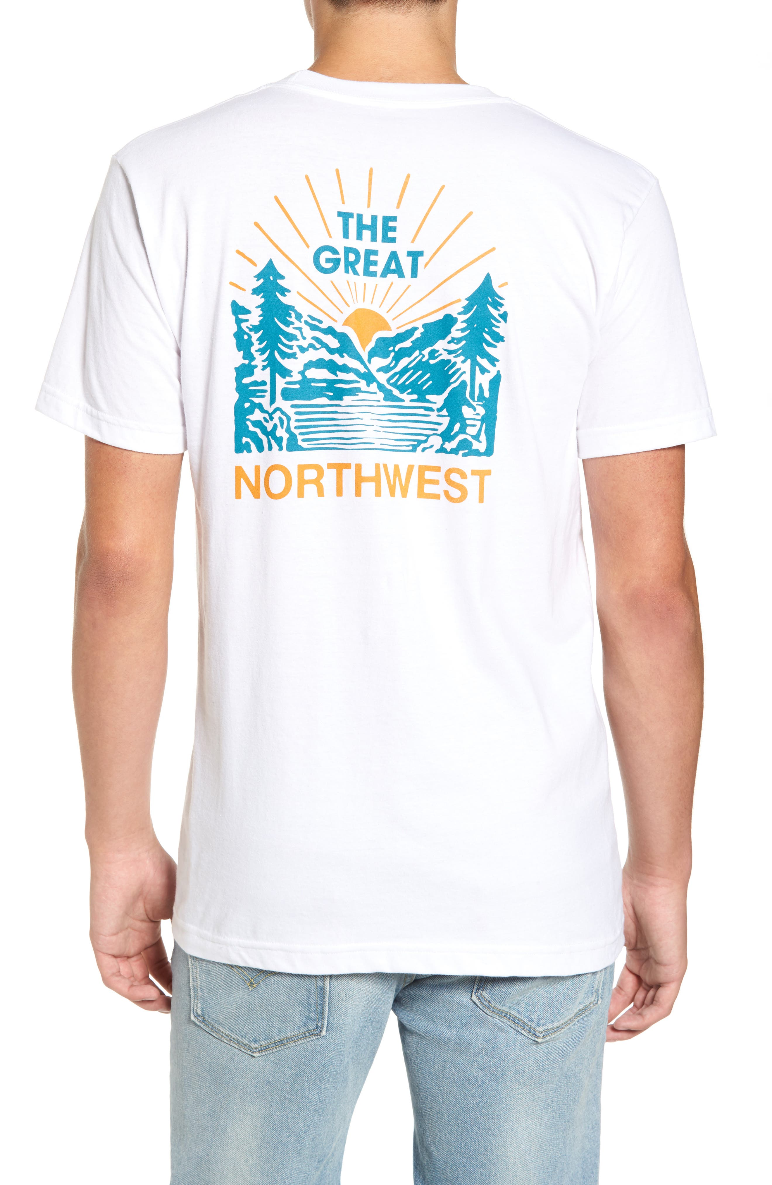 Squatch Valley 2 Graphic T-Shirt,                             Alternate thumbnail 3, color,