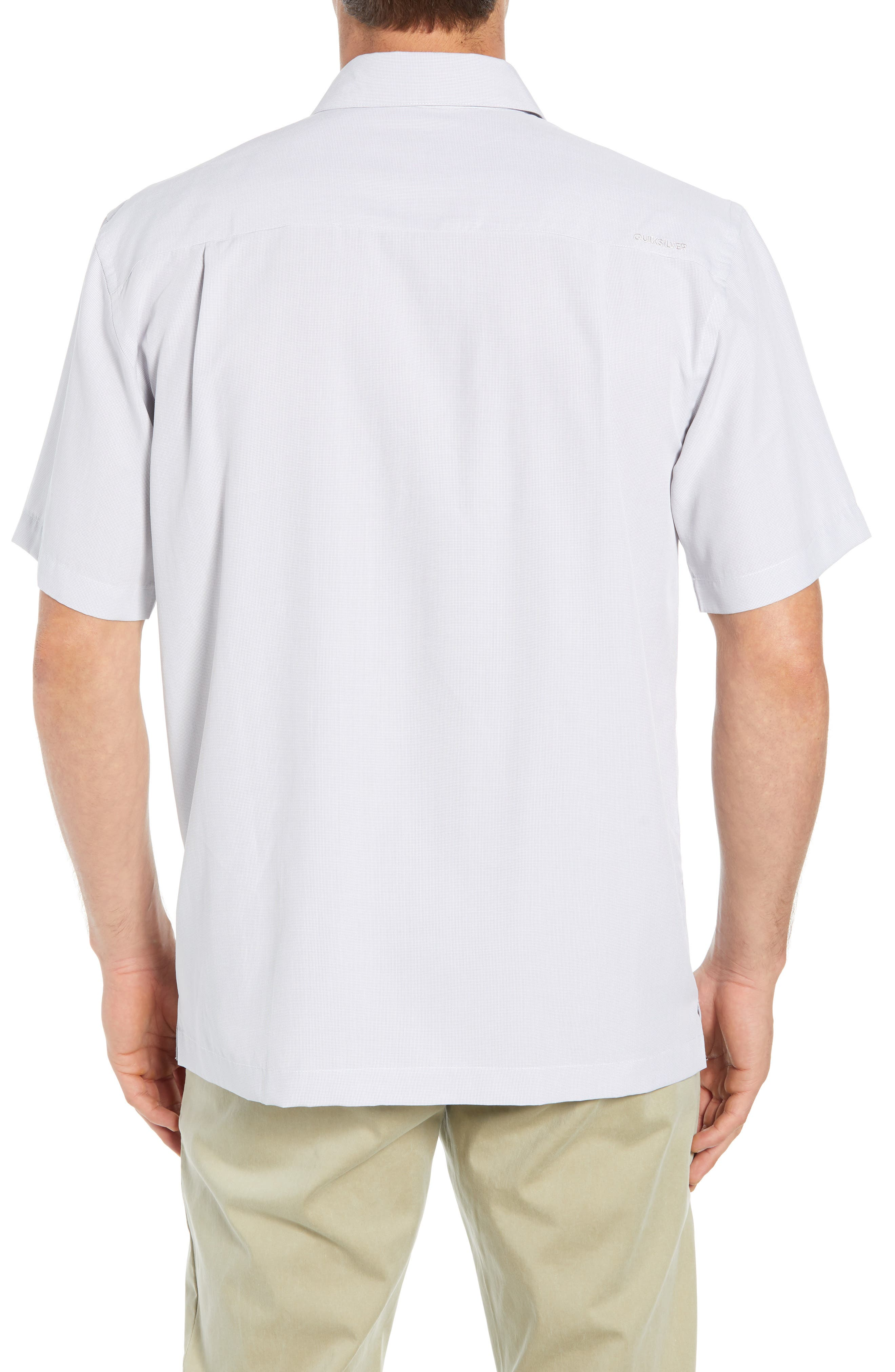 Cane Island Classic Fit Camp Shirt,                             Alternate thumbnail 3, color,                             101