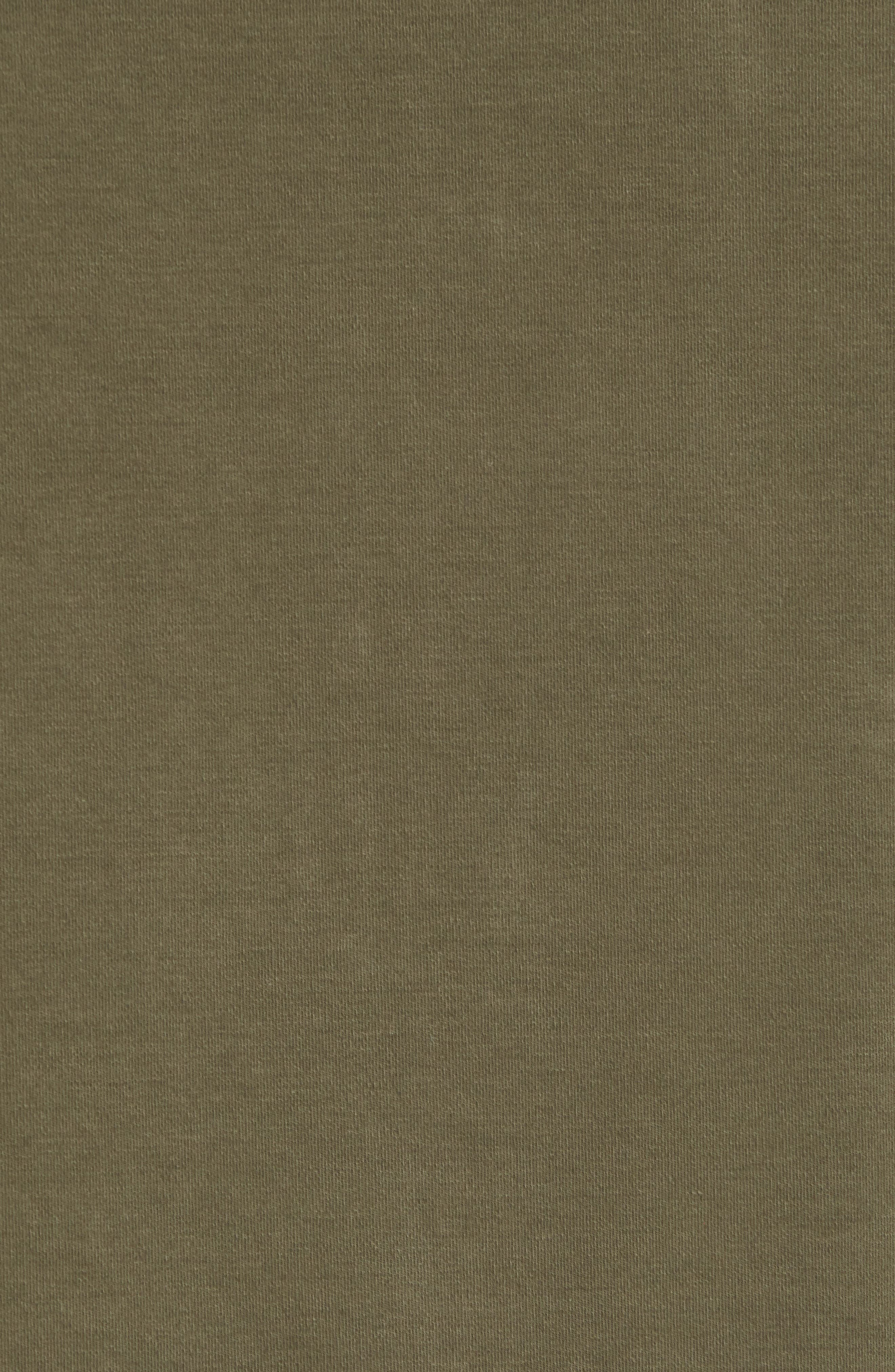 Regular Fit Safari Jersey Jacket,                             Alternate thumbnail 6, color,