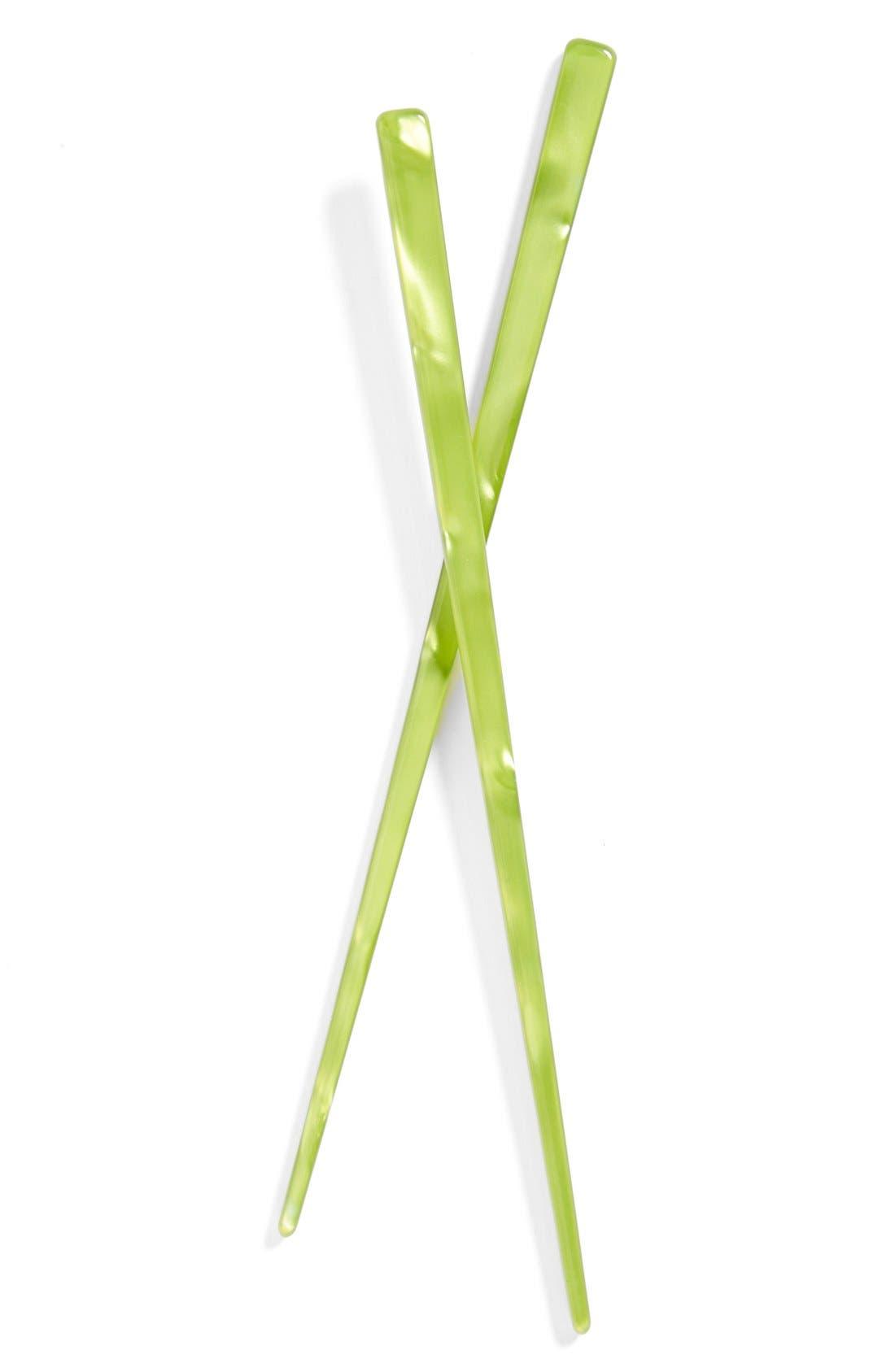 L. Erickson Hair Stick Pairs,                             Main thumbnail 8, color,