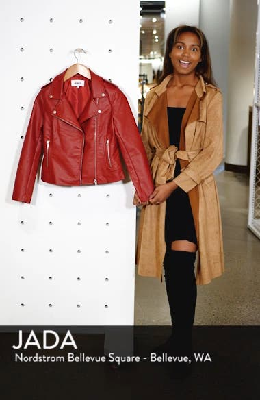 Just Ride Faux Leather Jacket, sales video thumbnail