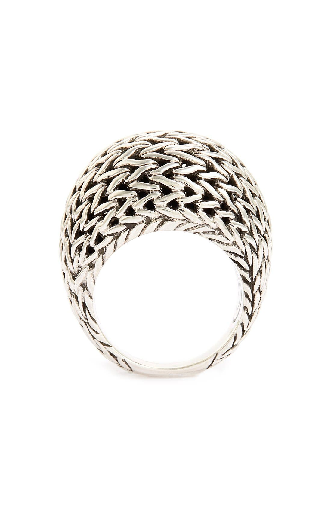 Classic Chain Dome Ring,                             Alternate thumbnail 2, color,                             040