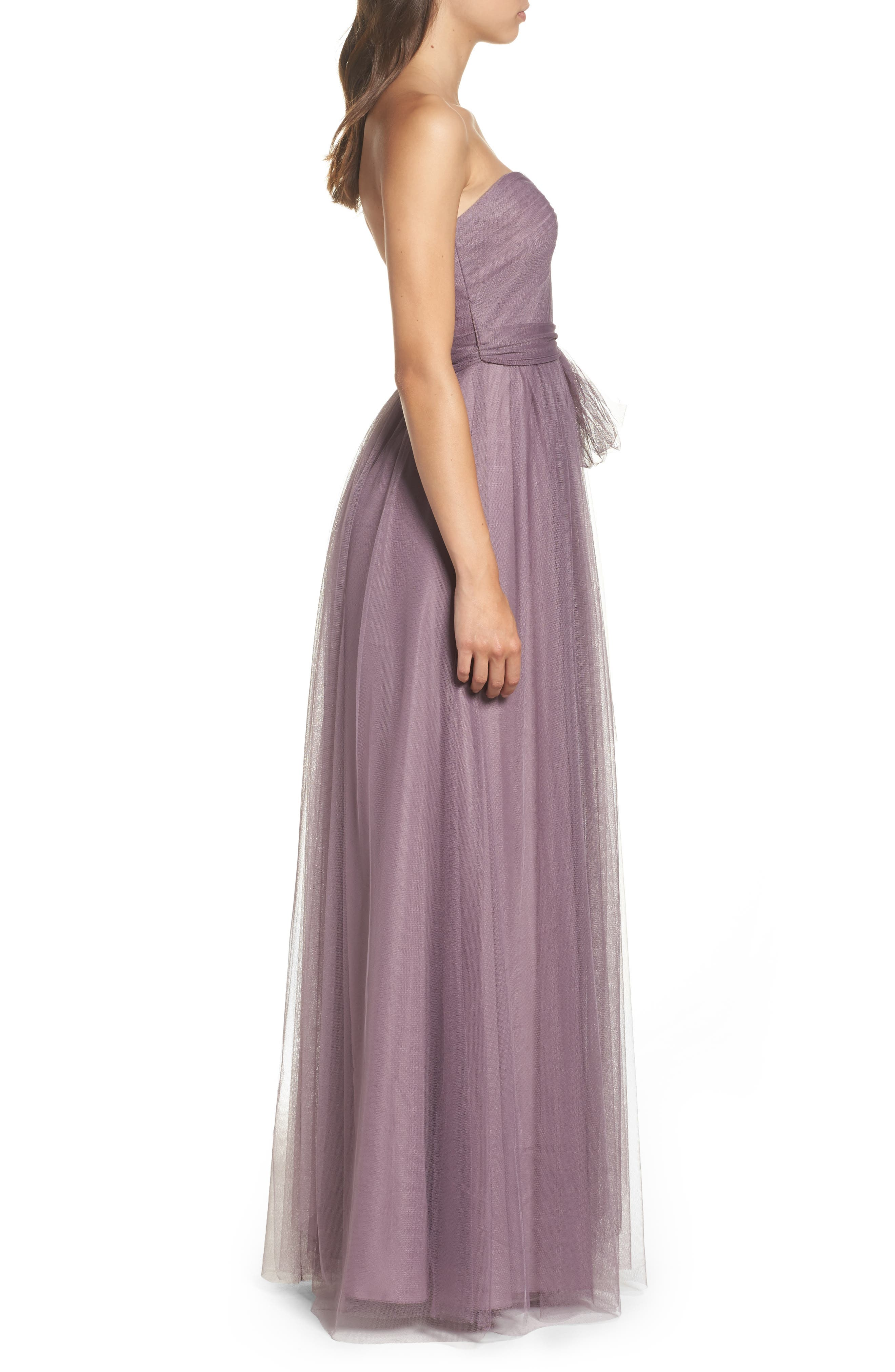 Annabelle Convertible Tulle Column Dress,                             Alternate thumbnail 97, color,