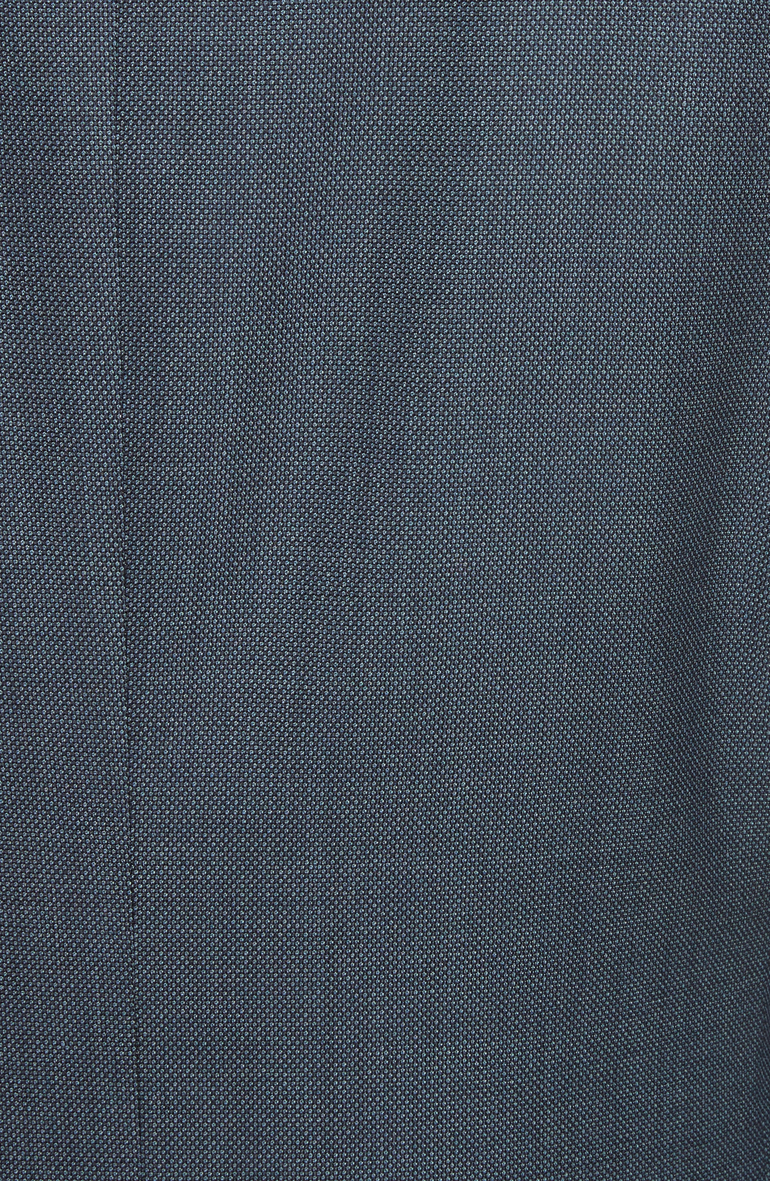 Classic Fit Solid Wool Suit,                             Alternate thumbnail 7, color,                             420