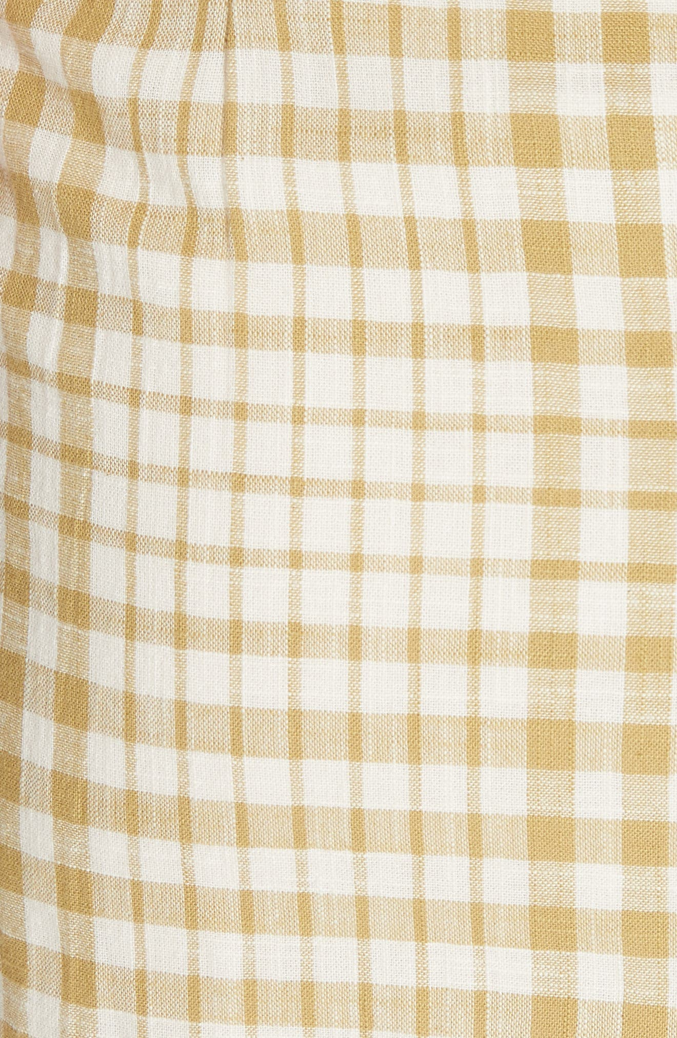 Nodia Check Wrap Minidress,                             Alternate thumbnail 12, color,