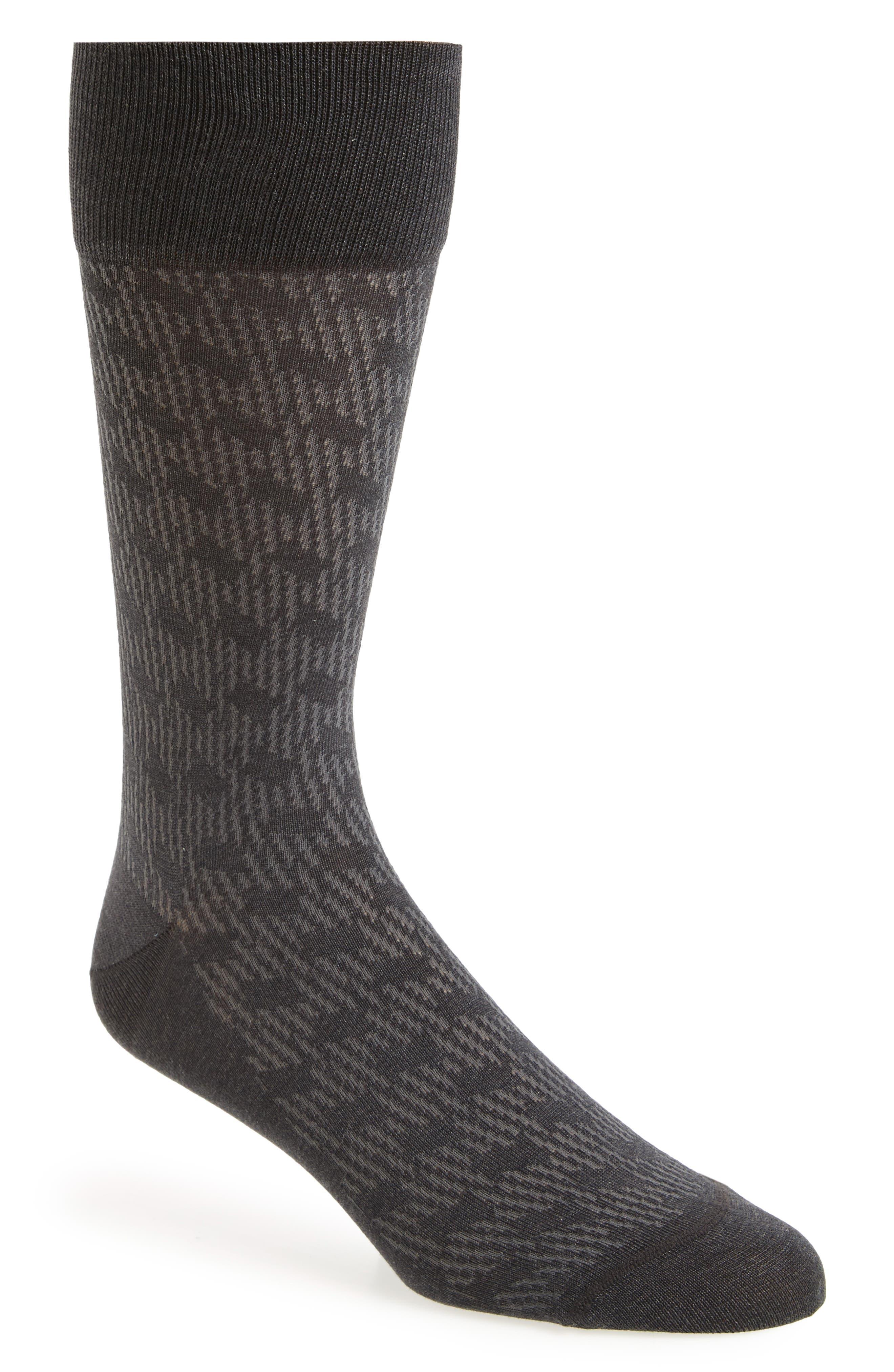 Shadow Rhombus Socks,                         Main,                         color, 021