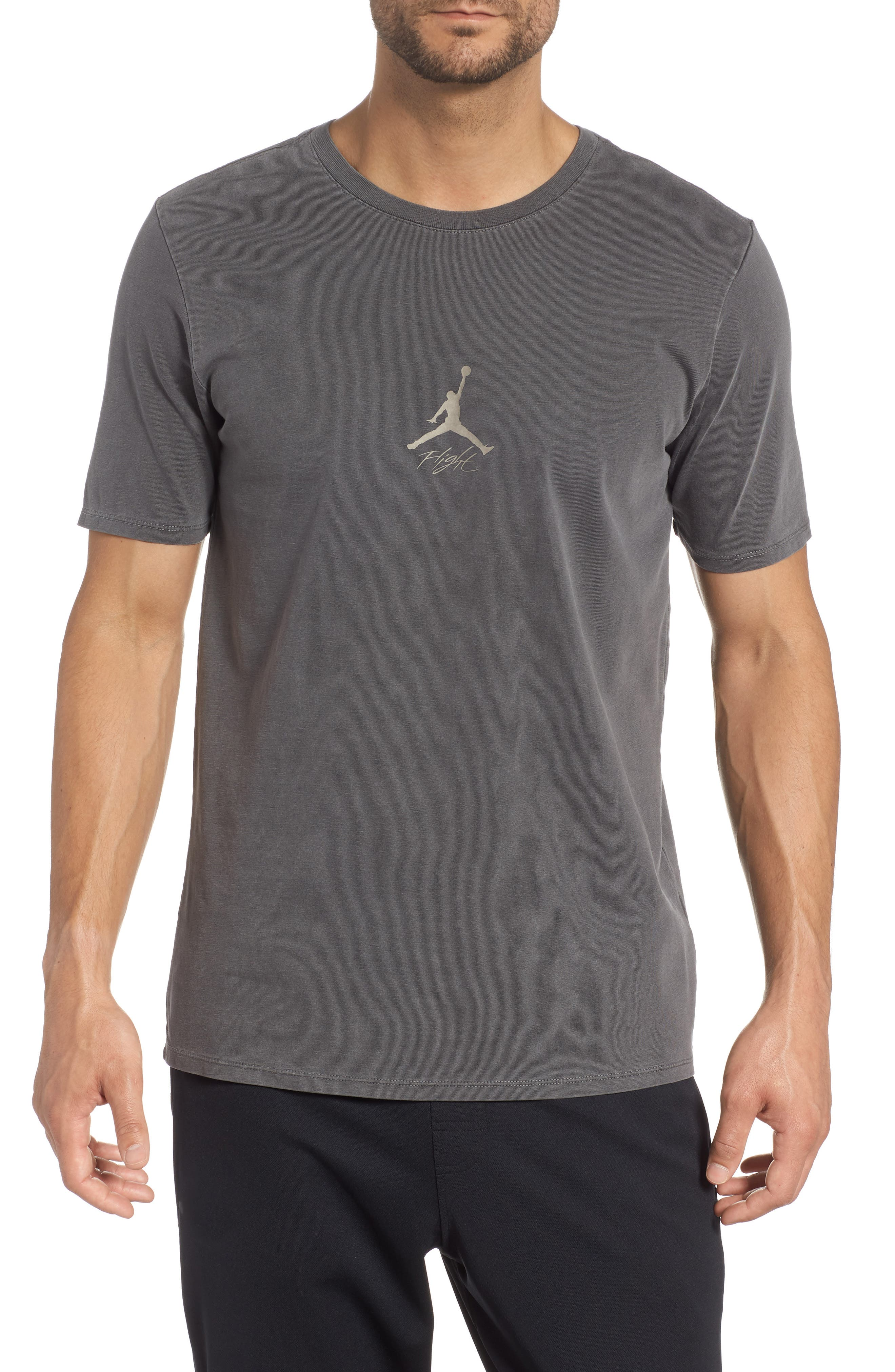 JORDAN,                             Wings Cotton T-Shirtee,                             Main thumbnail 1, color,                             010