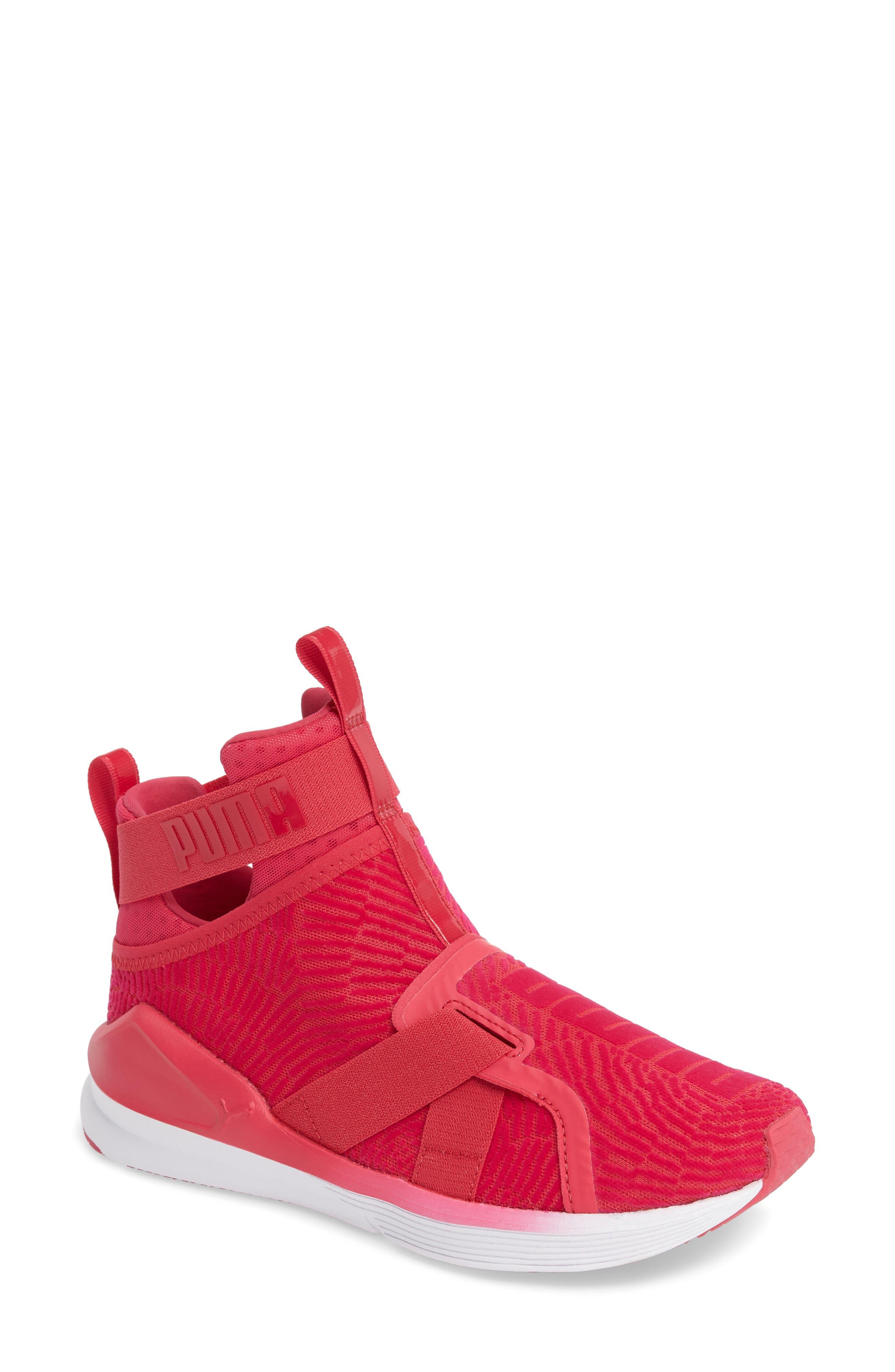 Fierce Strap Training Sneaker,                             Main thumbnail 8, color,