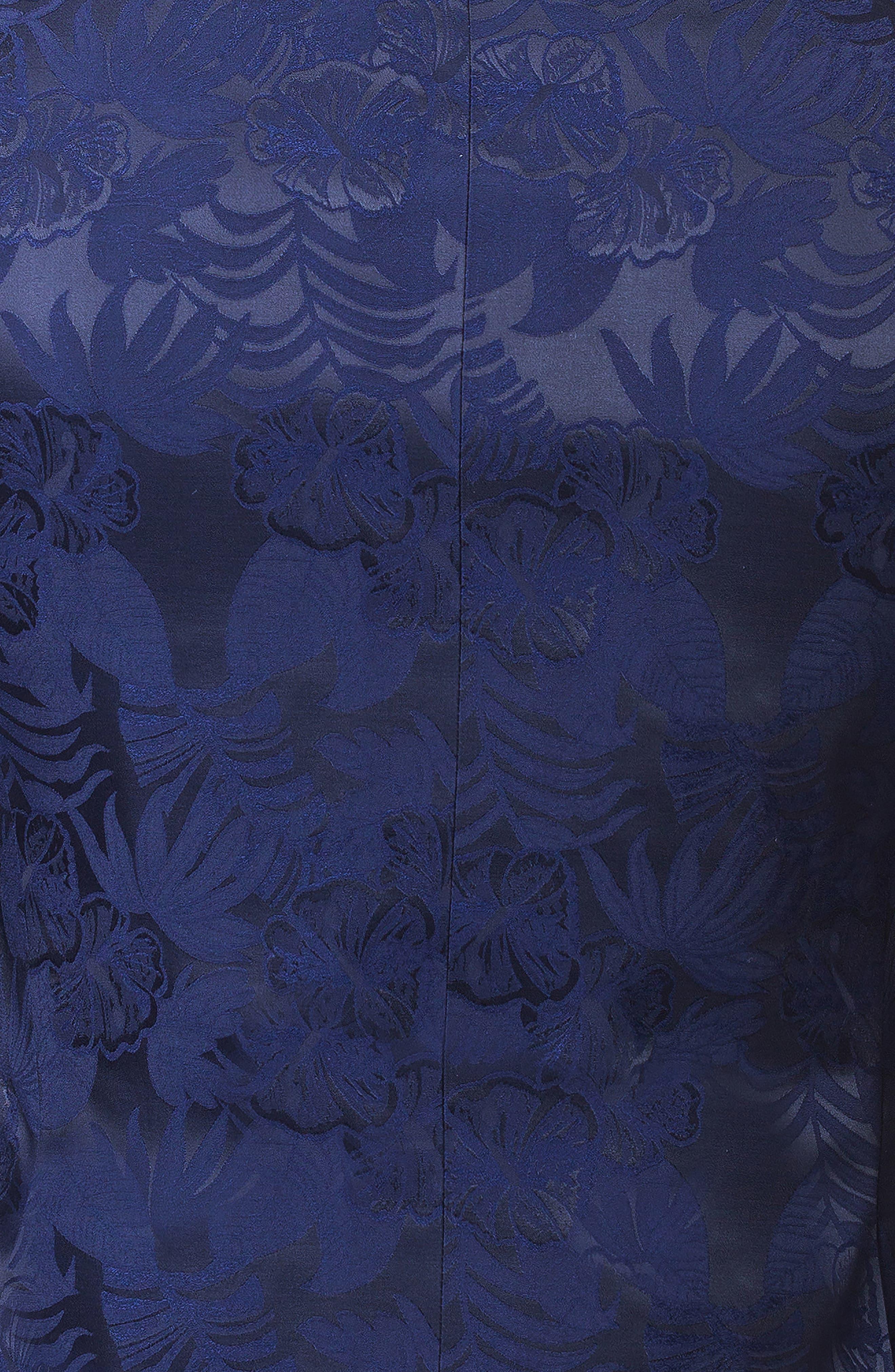 Descartes Field Blue Blazer,                             Alternate thumbnail 4, color,                             BLUE