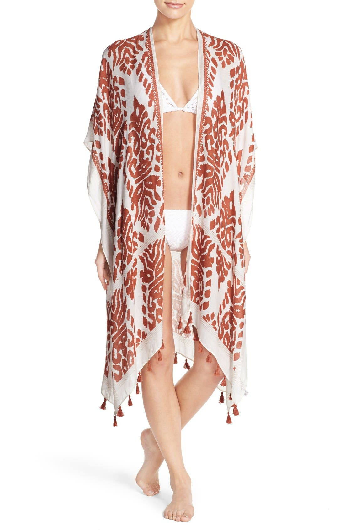 Fringed Swim Cover-Up,                             Main thumbnail 6, color,
