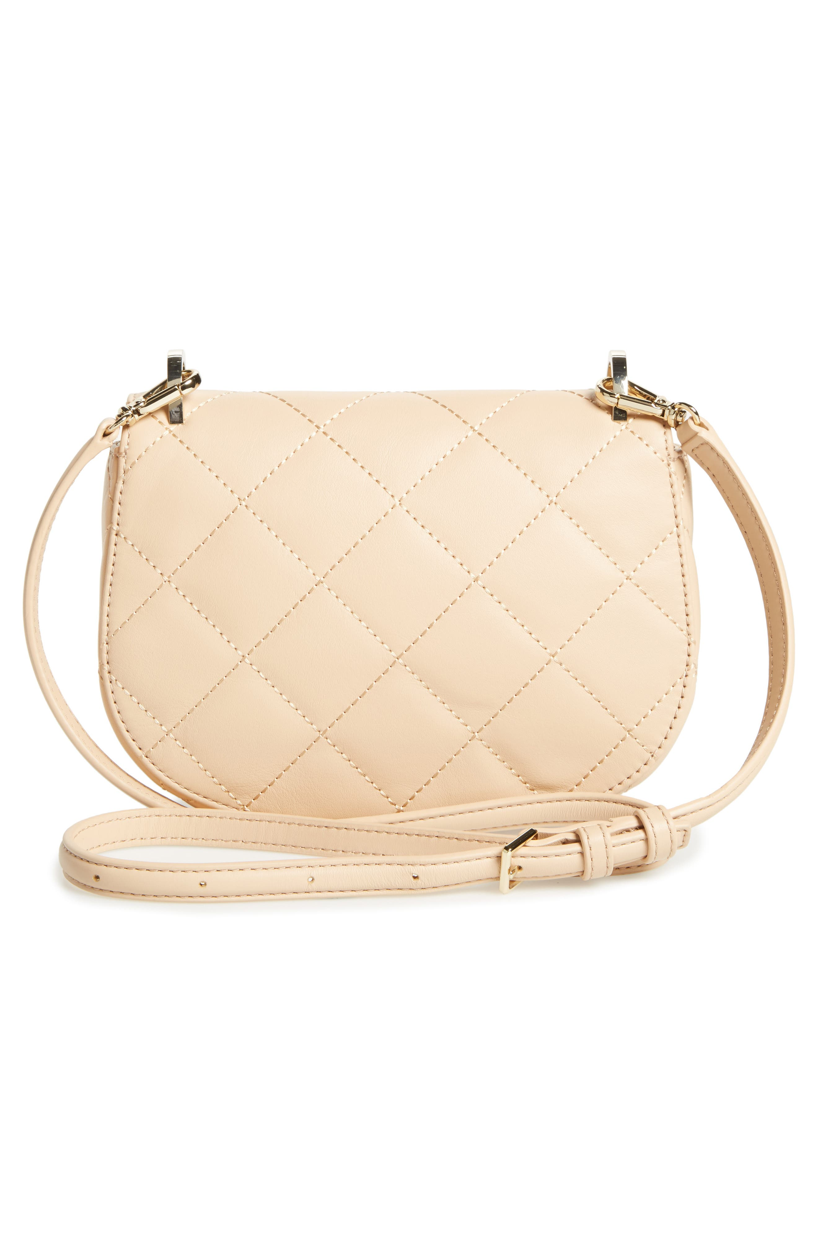 emerson place - rita quilted leather crossbody bag,                             Alternate thumbnail 6, color,