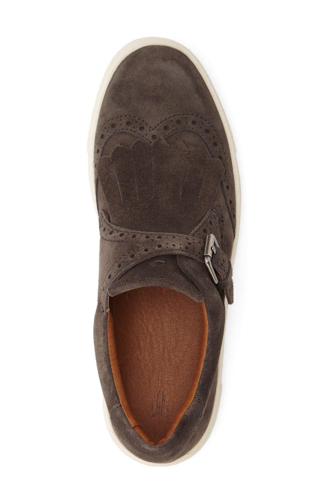 'Gemma' Kiltie Slip On-Sneaker,                             Alternate thumbnail 10, color,