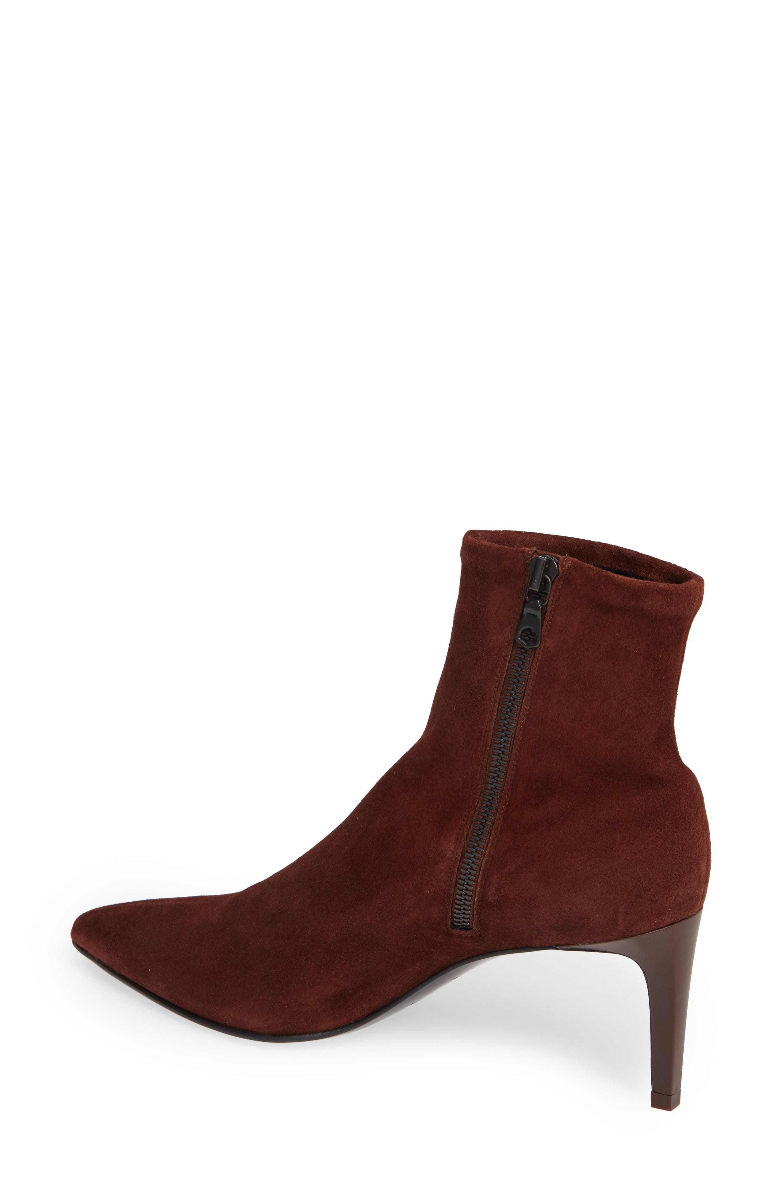 Beha Stretch Bootie,                             Alternate thumbnail 2, color,                             MAHOGANY SUEDE