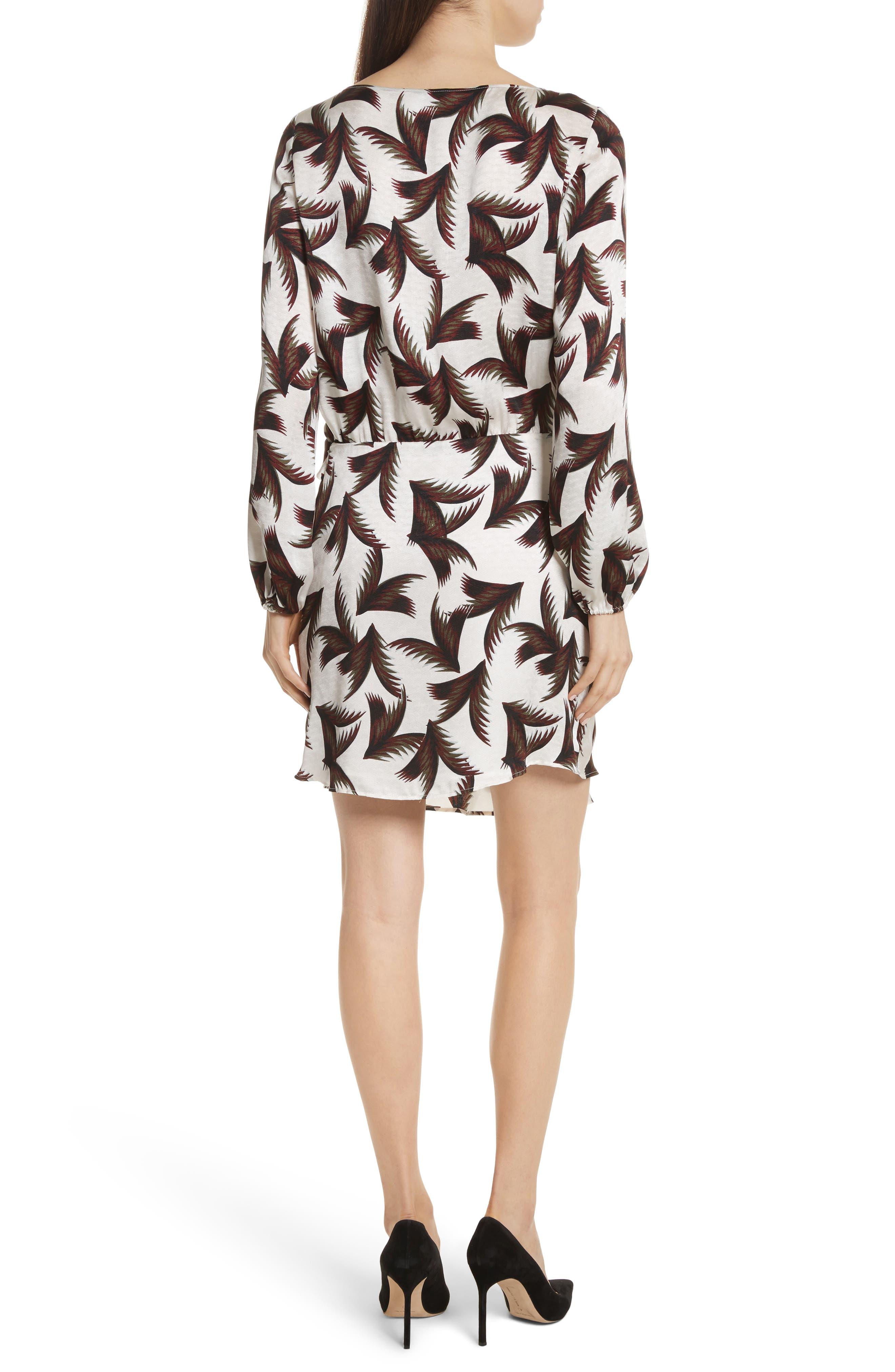 Freja Knotted Silk Dress,                             Alternate thumbnail 2, color,                             110
