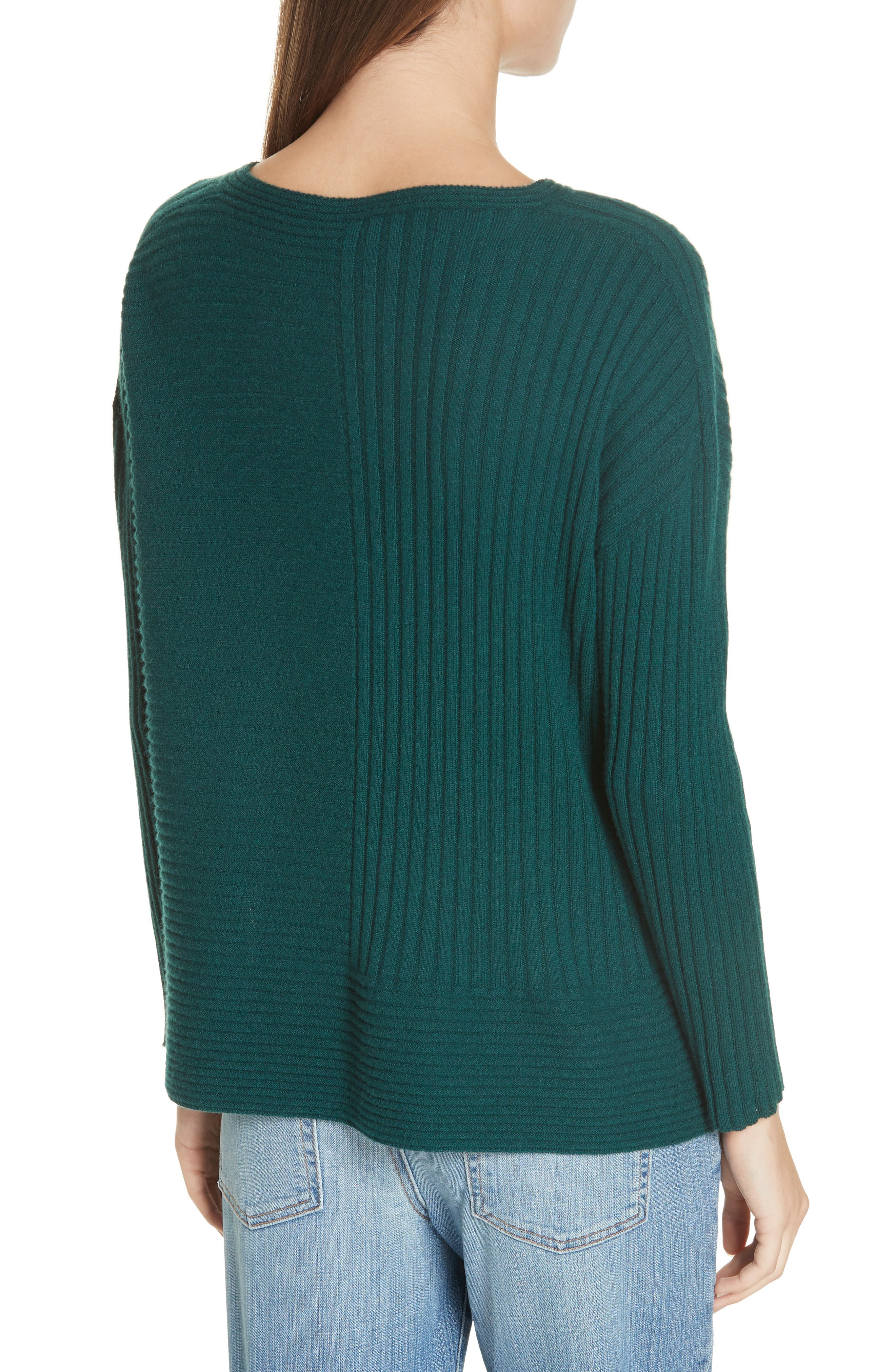 Ribbed Cashmere Sweater,                             Alternate thumbnail 2, color,                             303