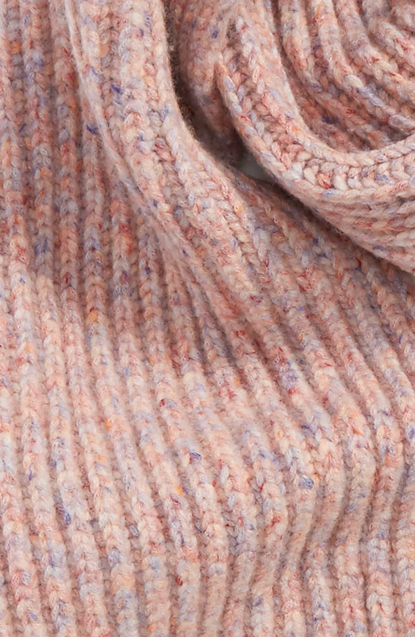 Devin Wool Blend Scarf,                             Alternate thumbnail 4, color,                             691