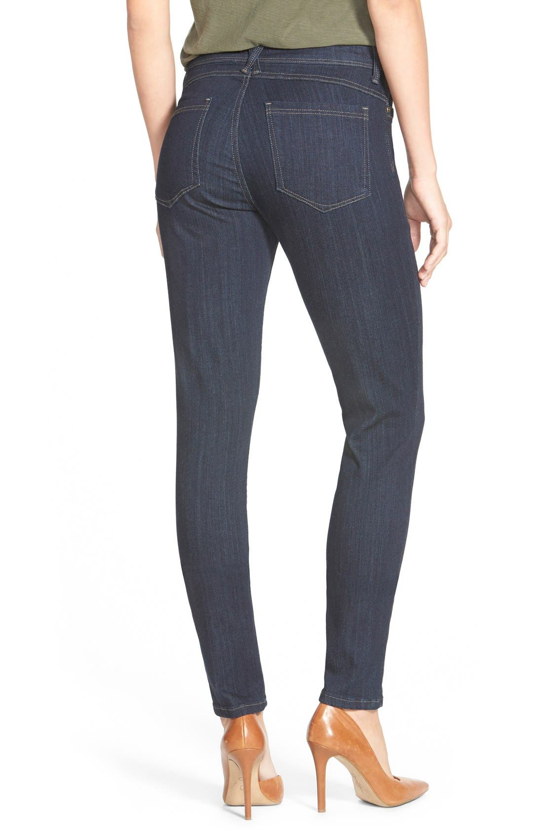 'Ami' Stretch Skinny Jeans,                             Alternate thumbnail 17, color,