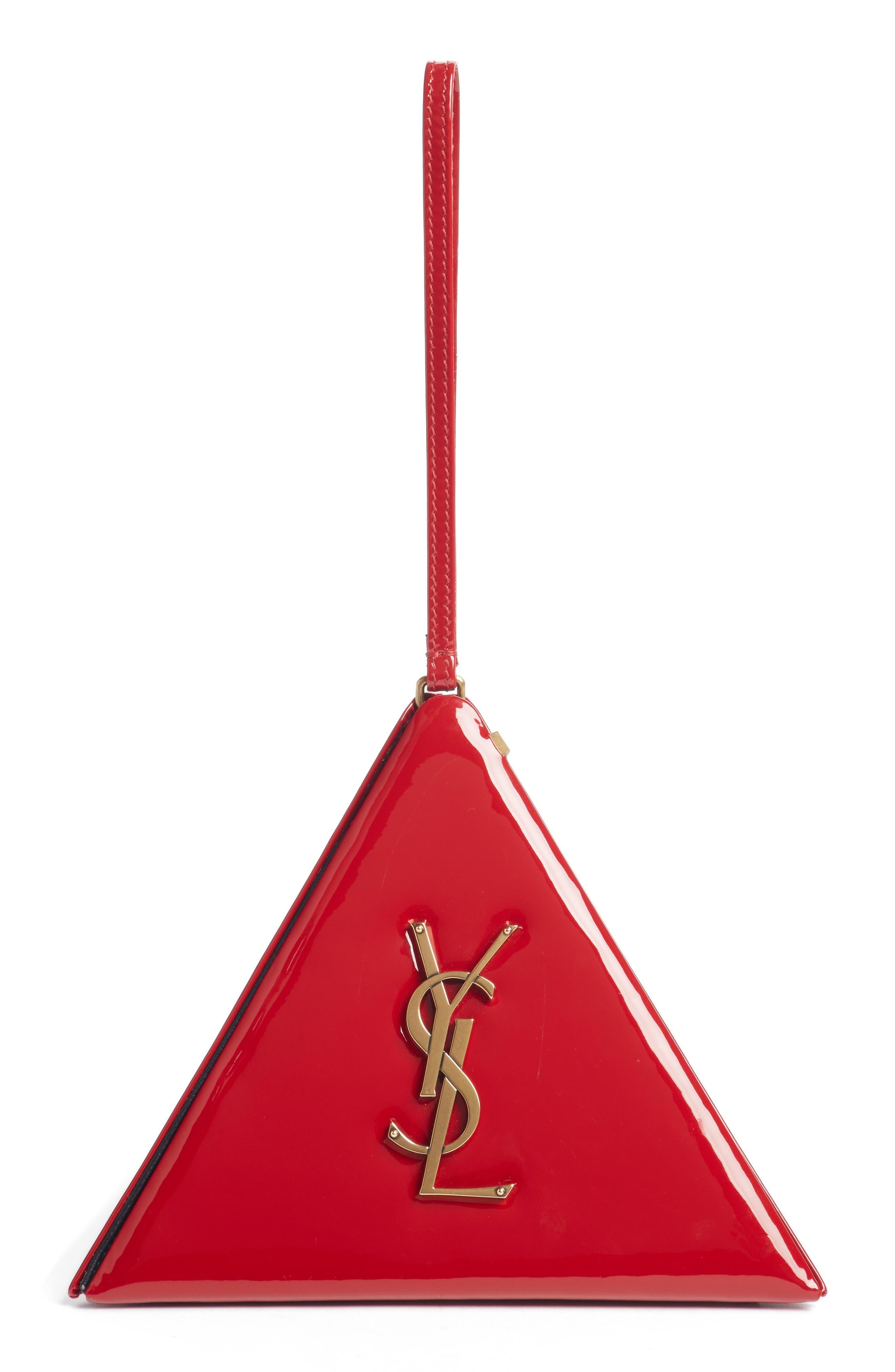 Pyramid Patent Minaudière,                         Main,                         color, 612