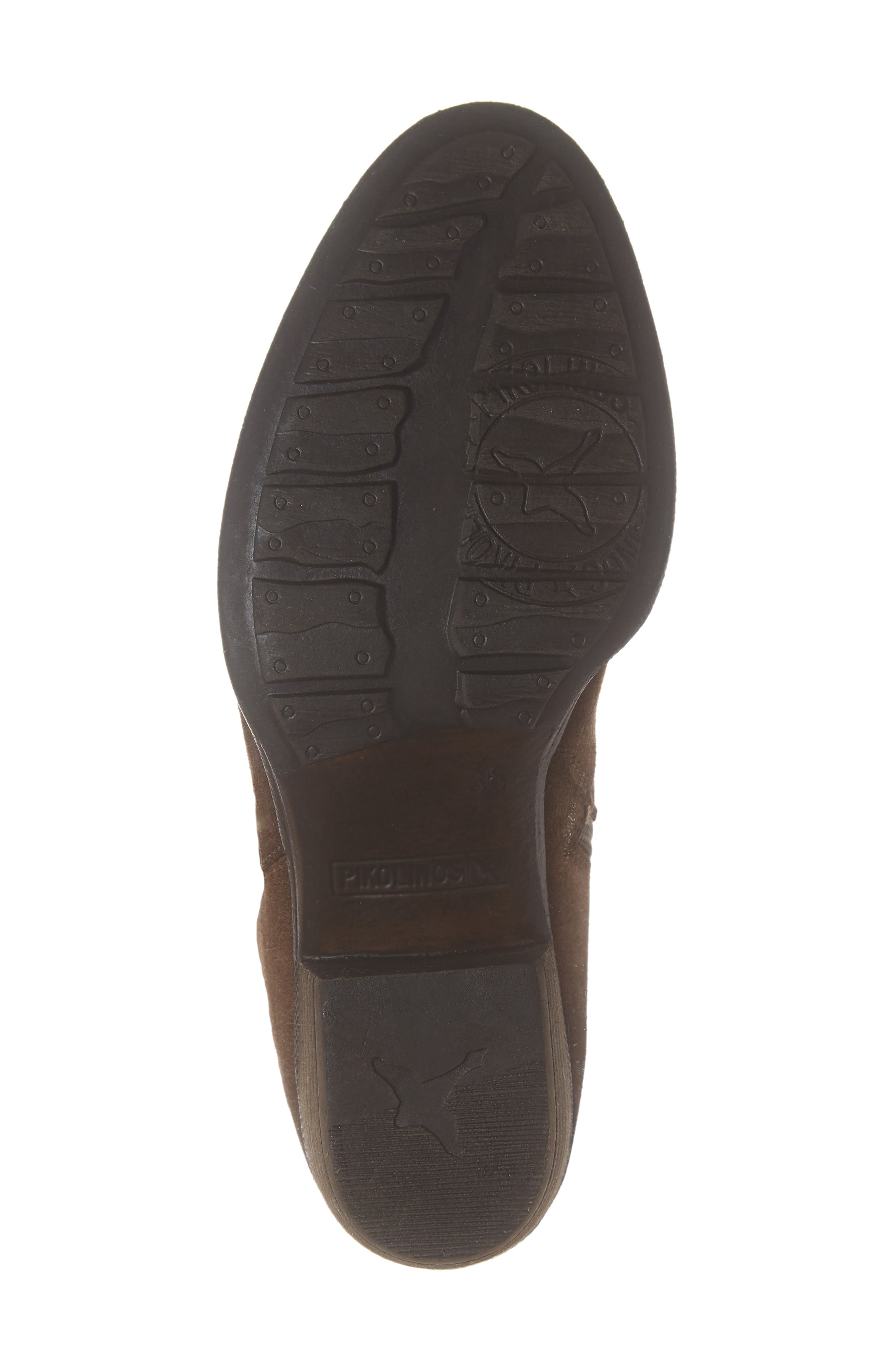 Baqueira Belted Bootie,                             Alternate thumbnail 6, color,                             STONE SUEDE
