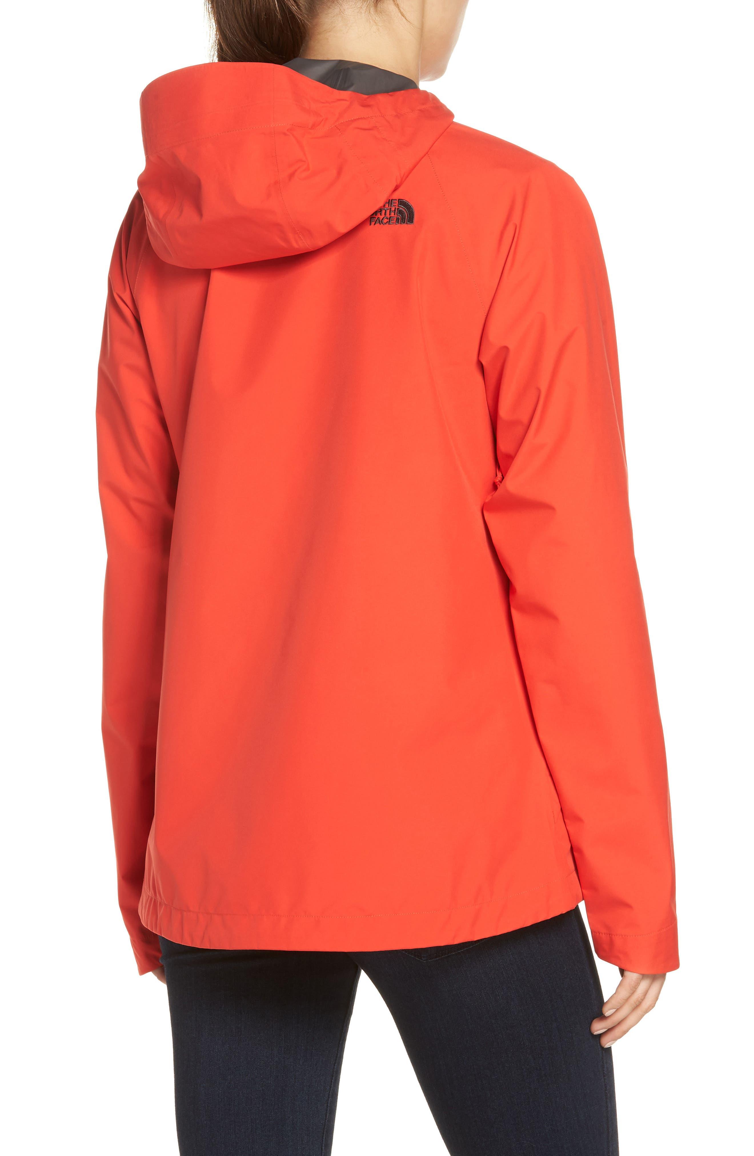 'Dryzzle' Hooded Jacket,                             Alternate thumbnail 2, color,                             JUICY RED