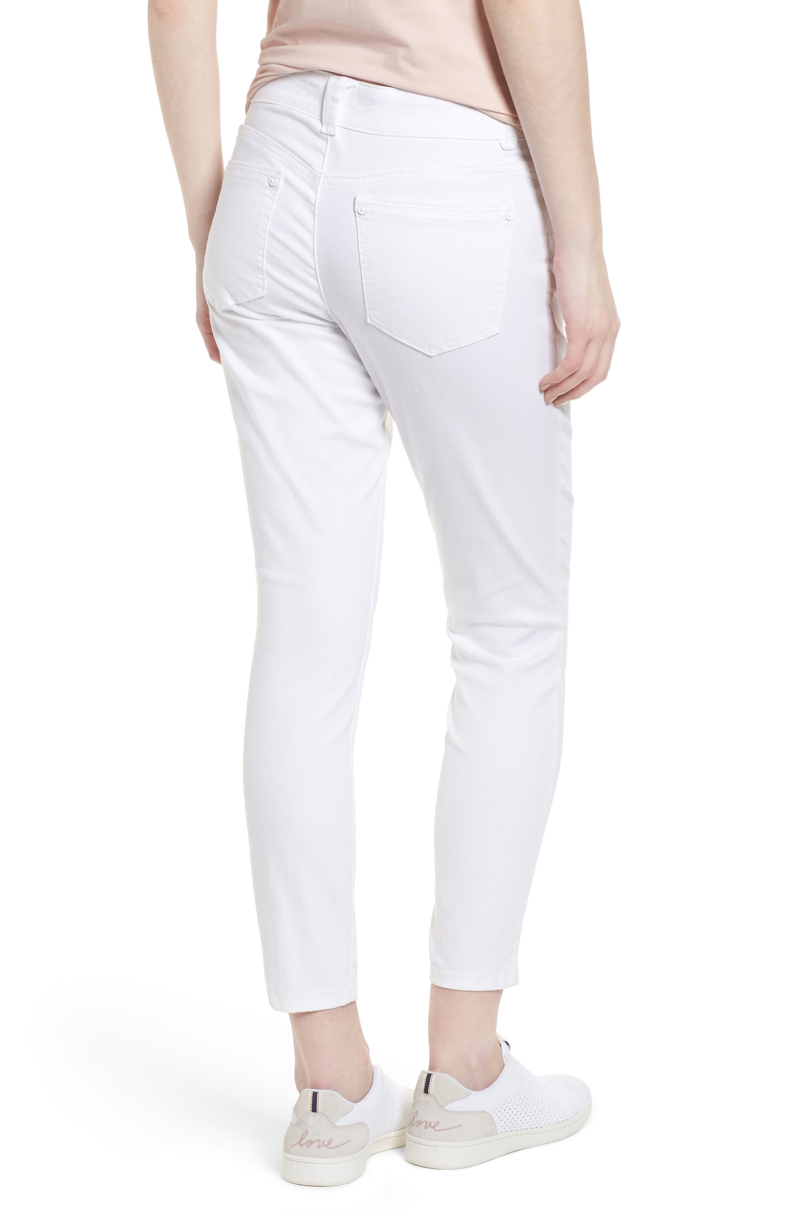 Ab-solution Ankle Skimmer Jeans,                             Alternate thumbnail 2, color,