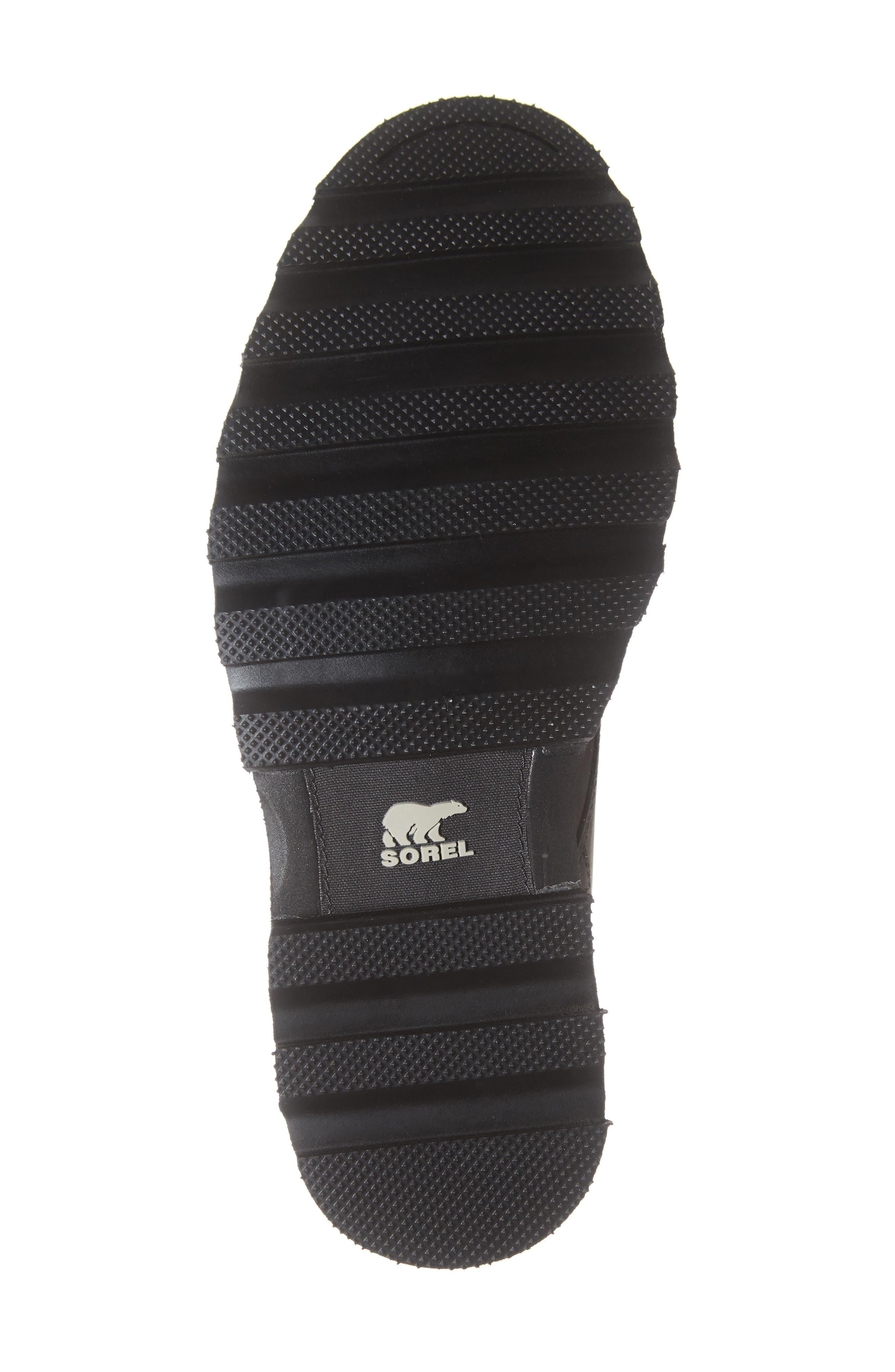 Madson Waterproof Boot,                             Alternate thumbnail 6, color,                             BLACK/ BLACK
