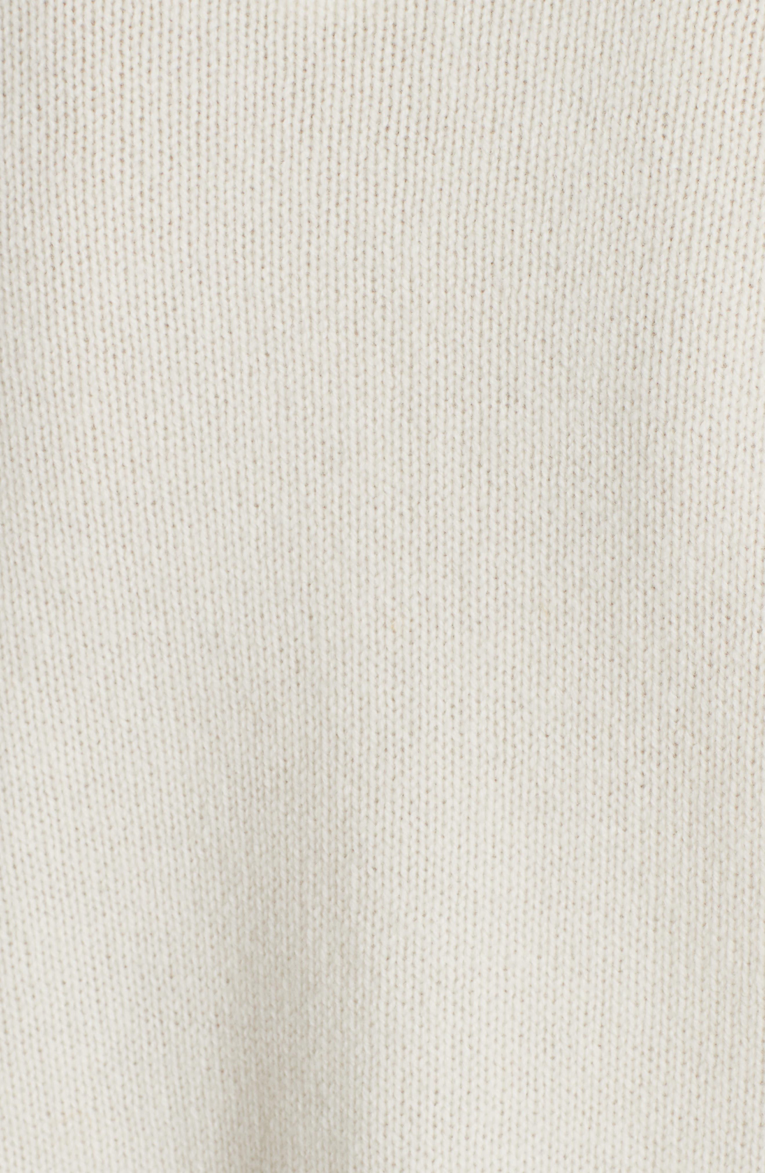 Bear Wool Sweater,                             Alternate thumbnail 5, color,                             CREAM