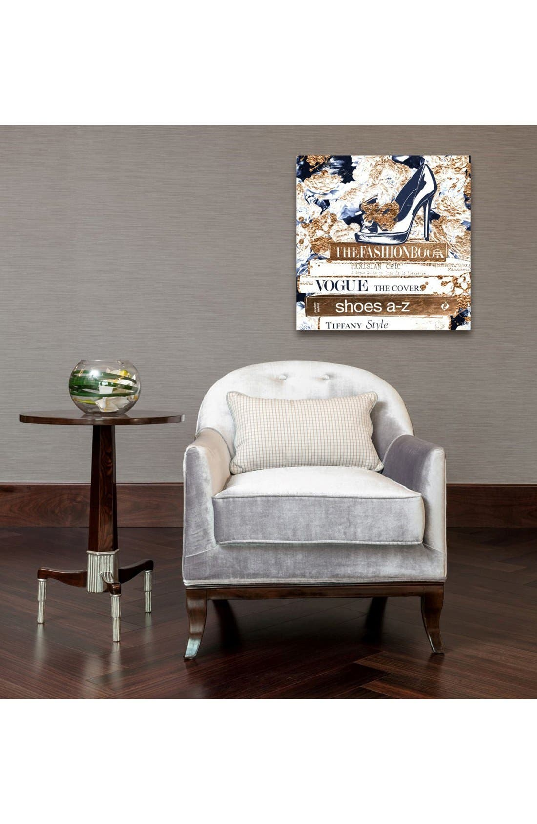 'A to Z Bronze Style' Canvas Wall Art,                             Alternate thumbnail 2, color,                             100