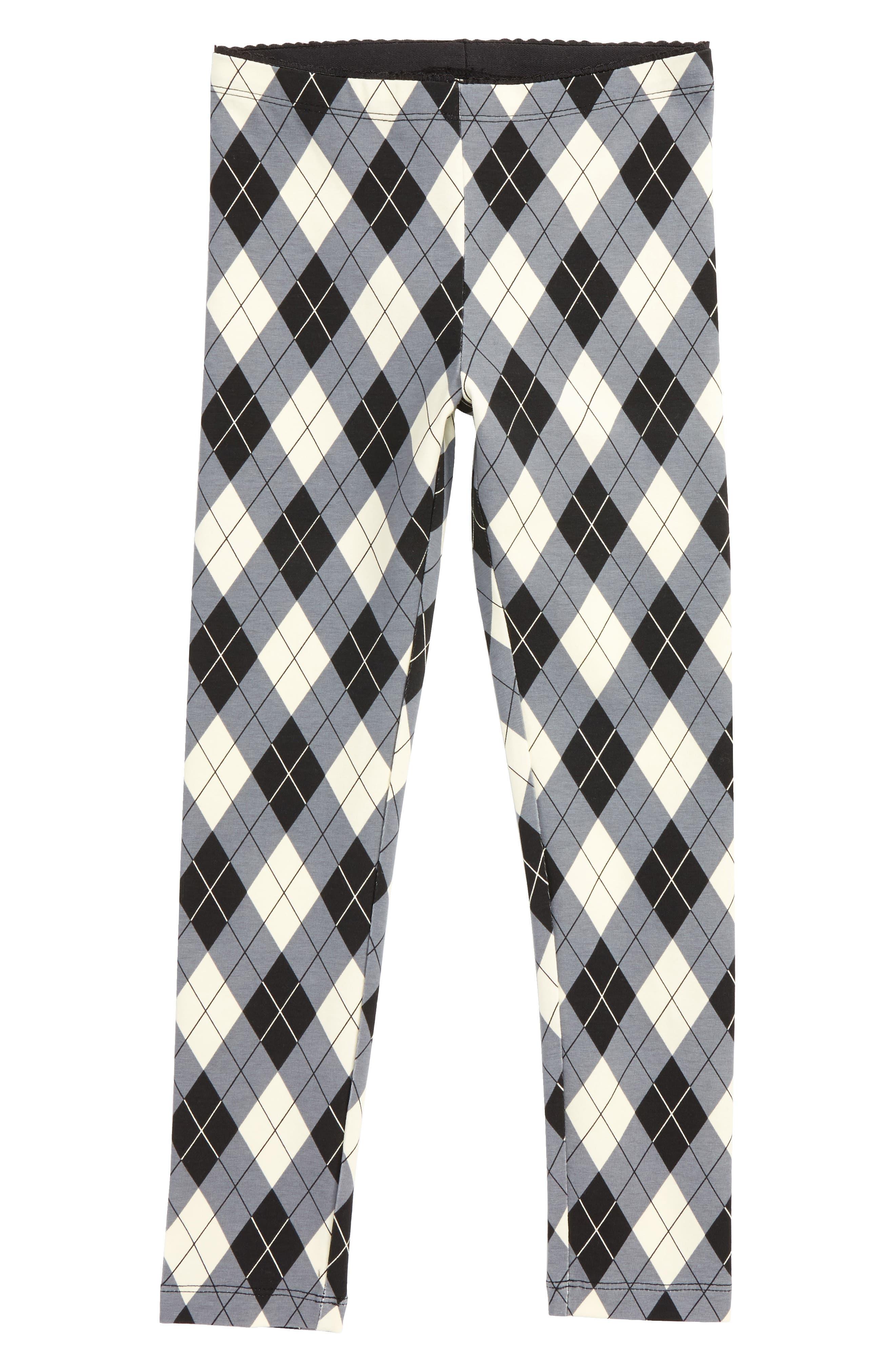 Argyle Plaid Leggings,                         Main,                         color, 900