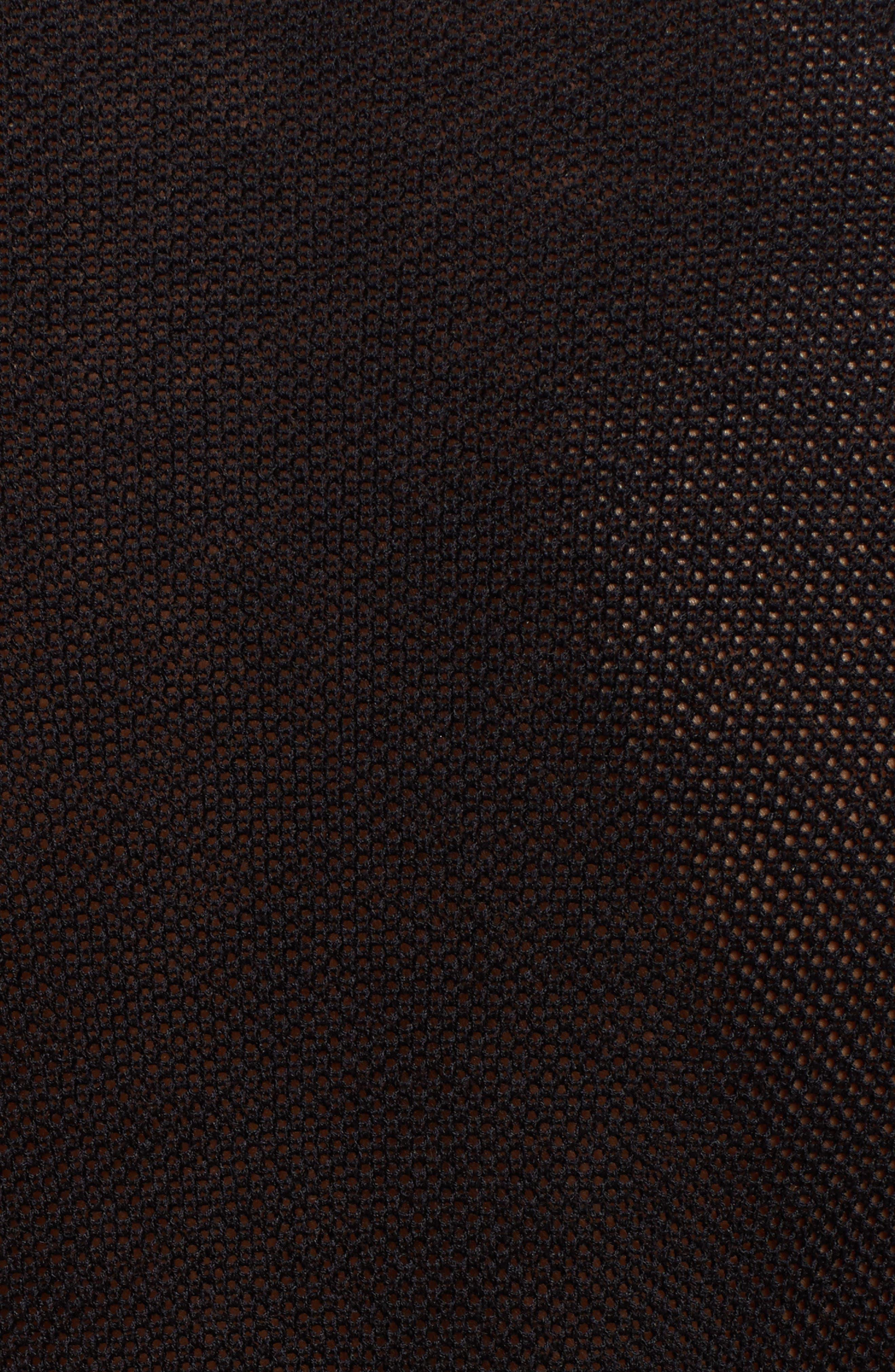 Shirred Silk Blend Pullover,                             Alternate thumbnail 5, color,                             001