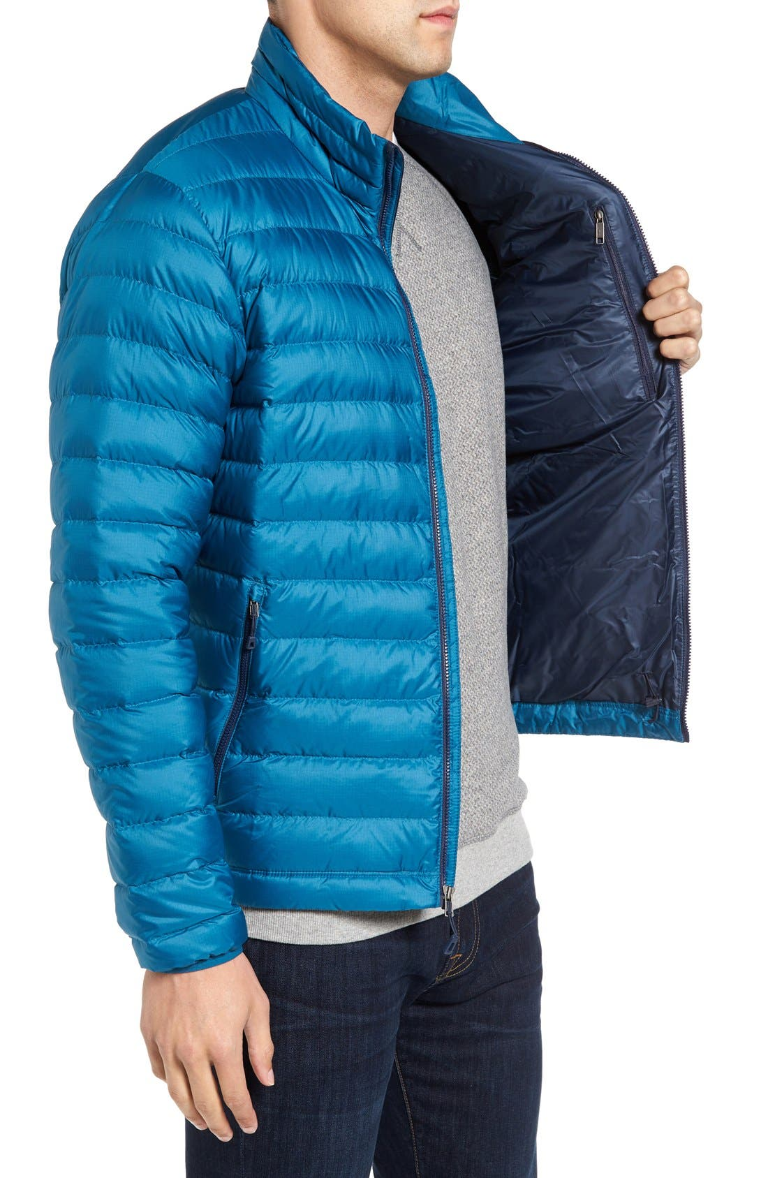 Water Repellent Down Jacket,                             Alternate thumbnail 56, color,
