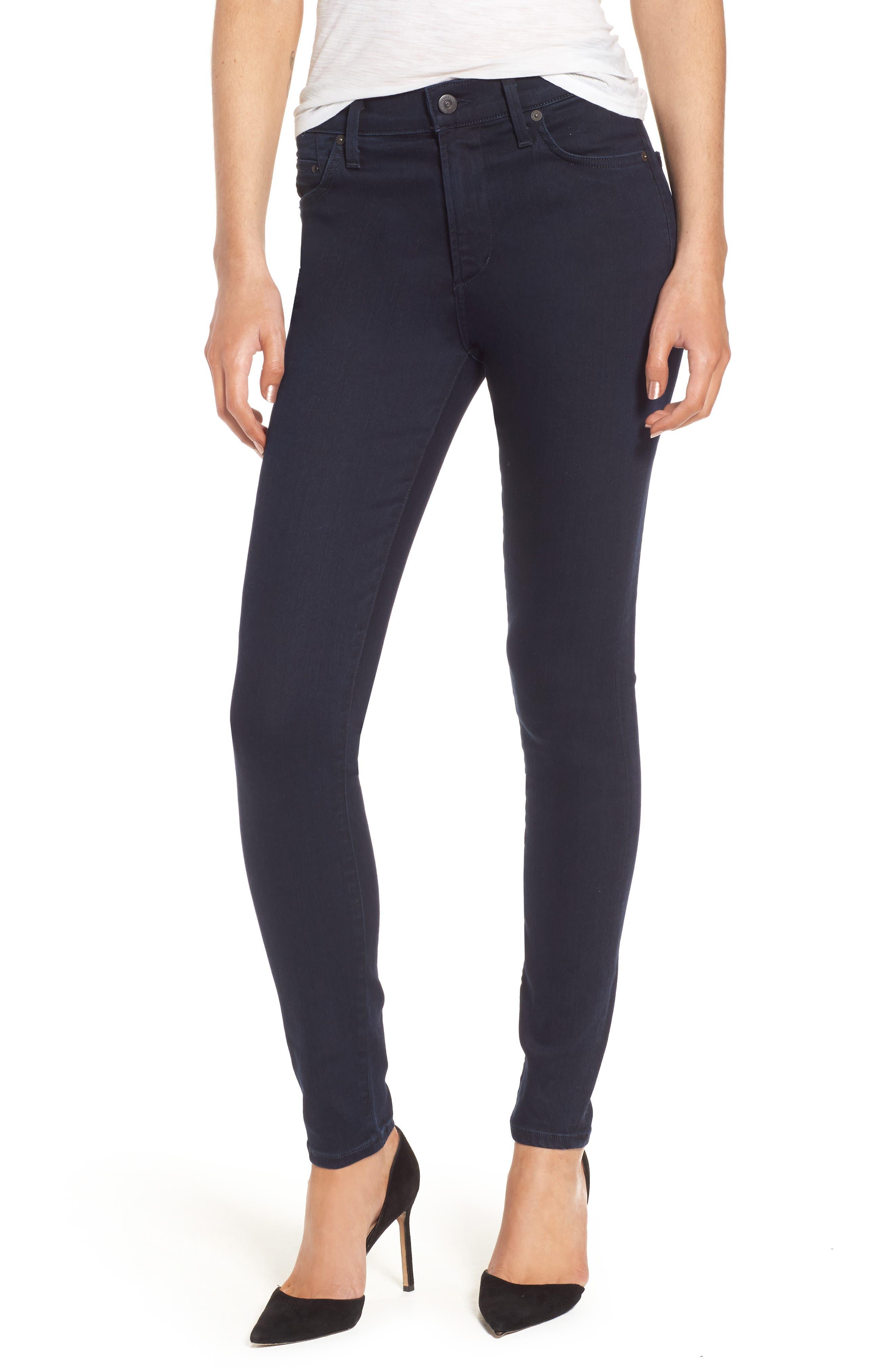 Rocket High Waist Skinny Jeans,                         Main,                         color, 409