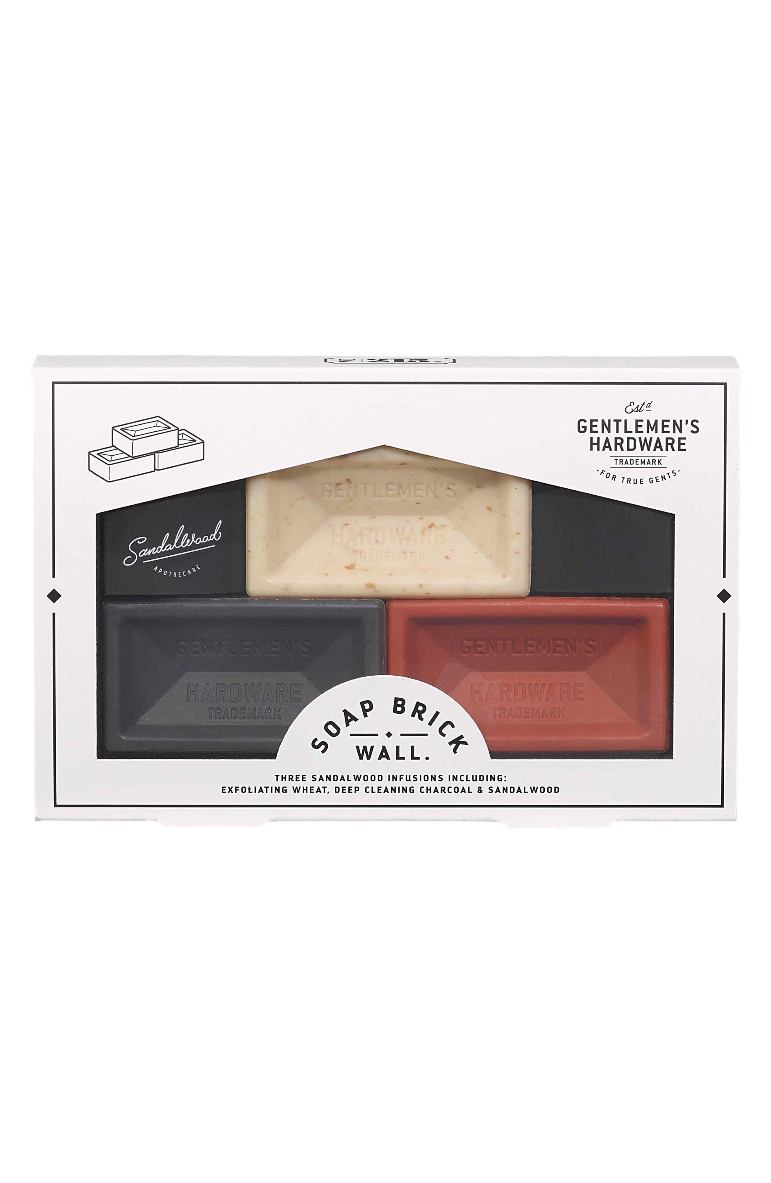 Brick Brick Wall Soap Trio,                             Alternate thumbnail 2, color,                             NO COLOR