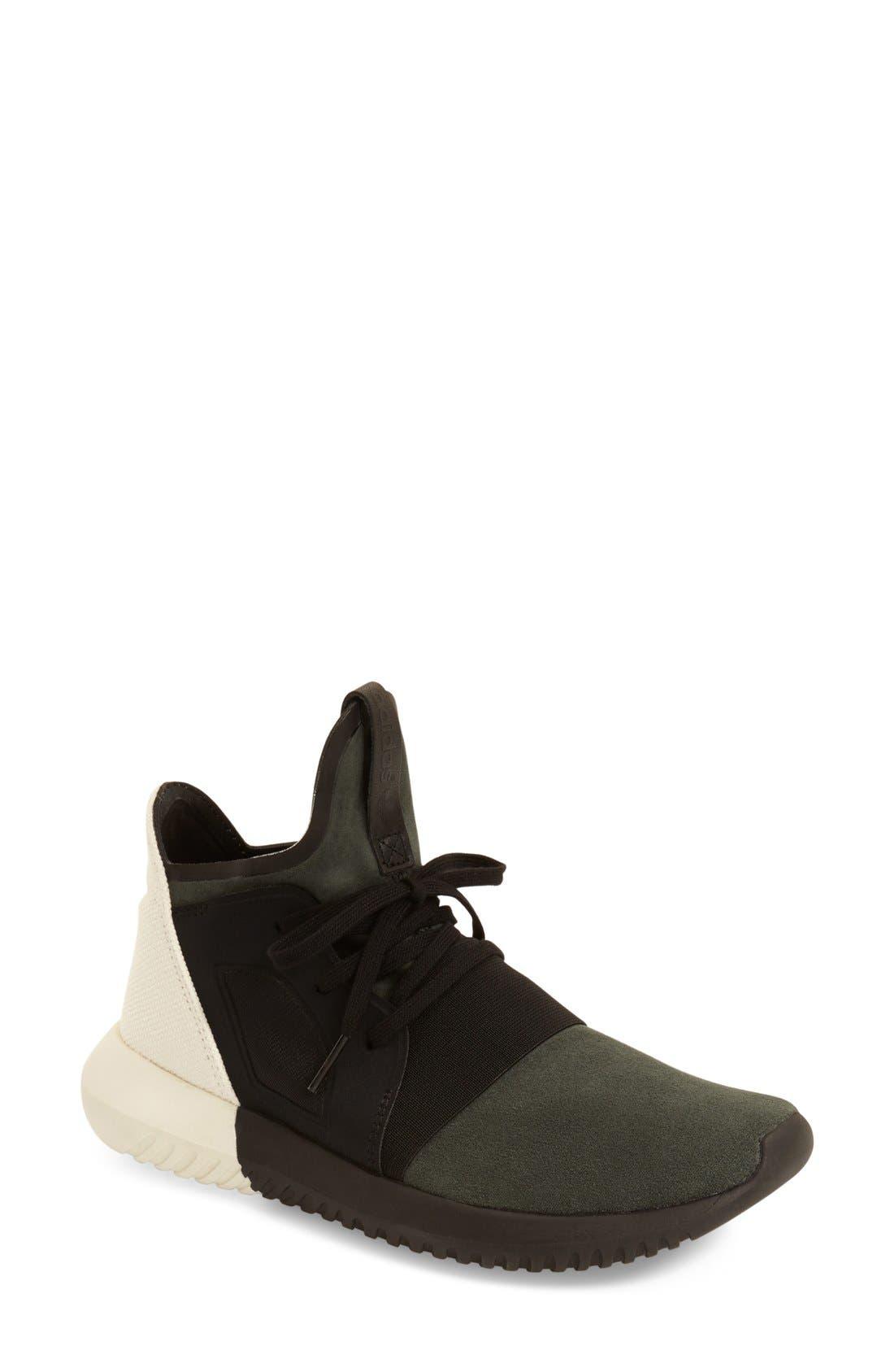 Tubular Defiant Sneaker,                             Main thumbnail 1, color,                             001
