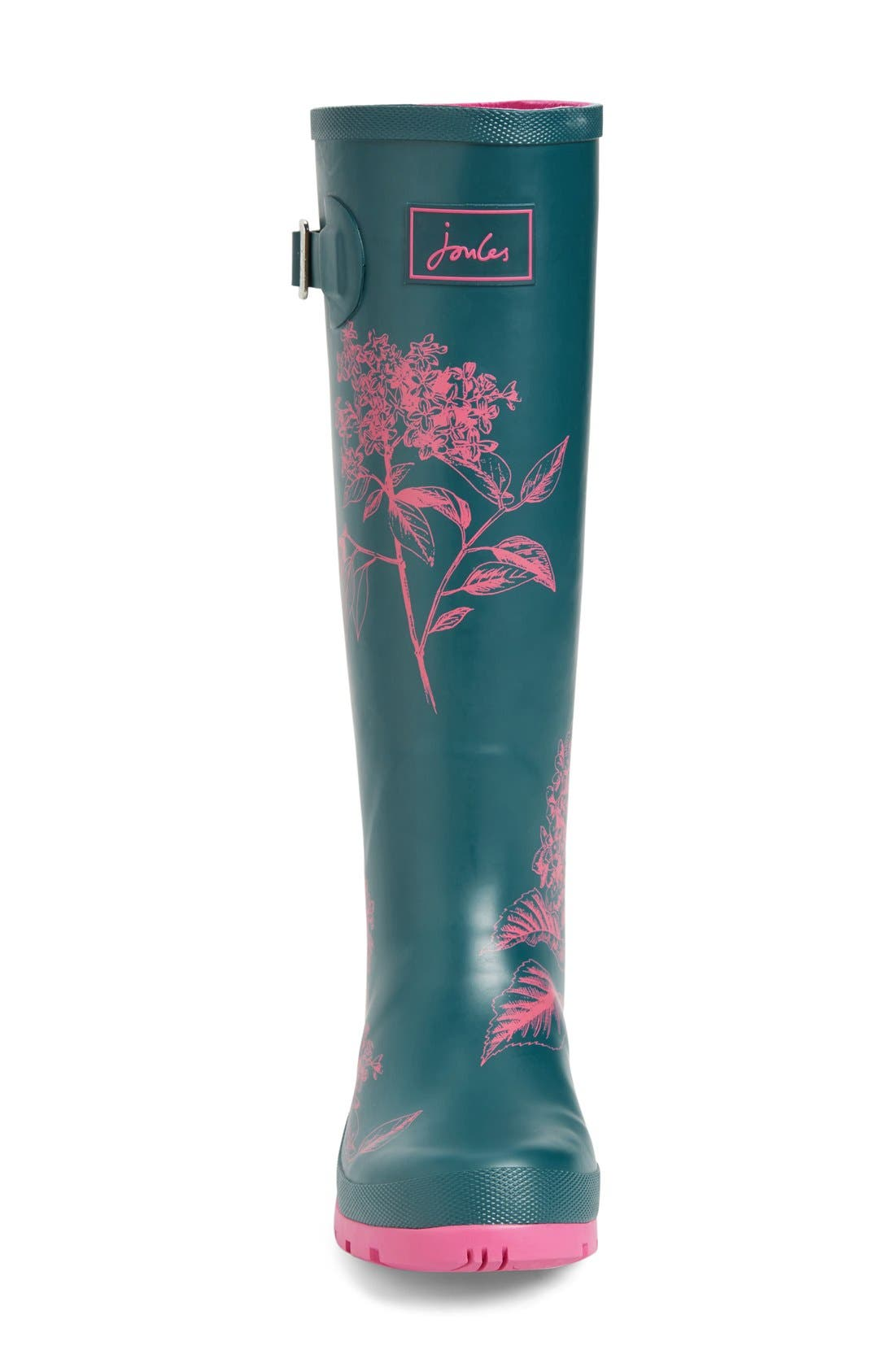 'Welly' Print Rain Boot,                             Alternate thumbnail 84, color,