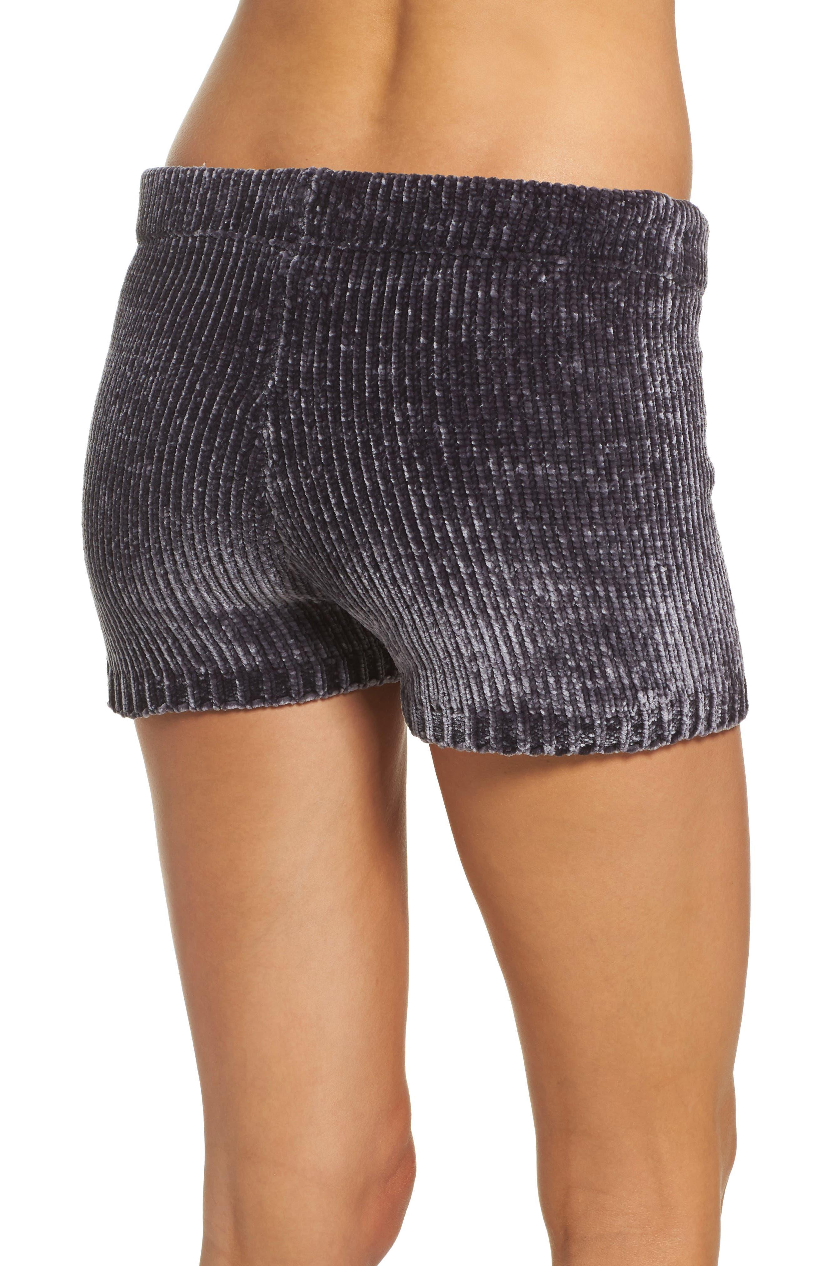 Chenille Shorts,                             Alternate thumbnail 3, color,