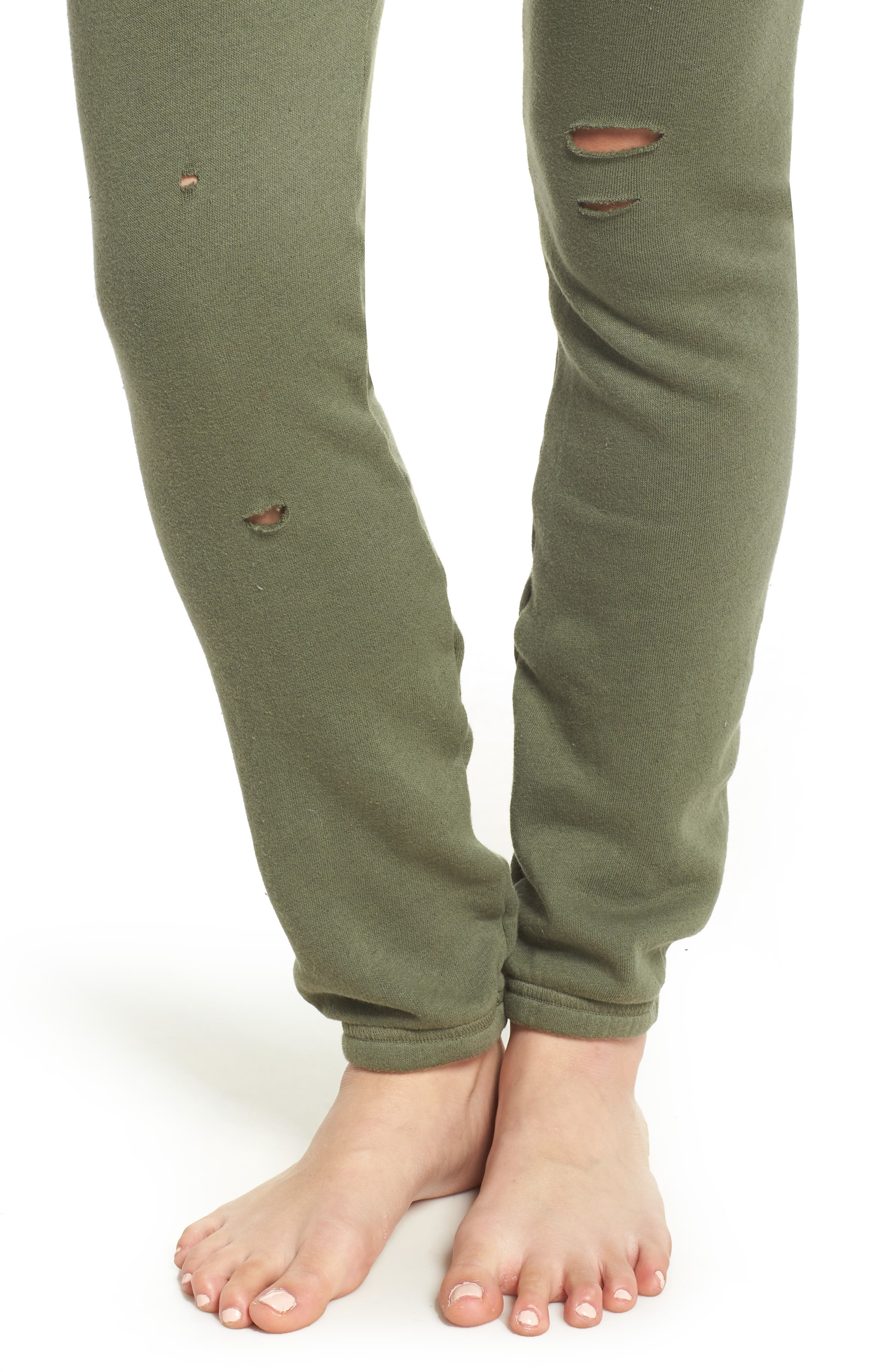 Destroyed Jogger Pants,                             Alternate thumbnail 8, color,