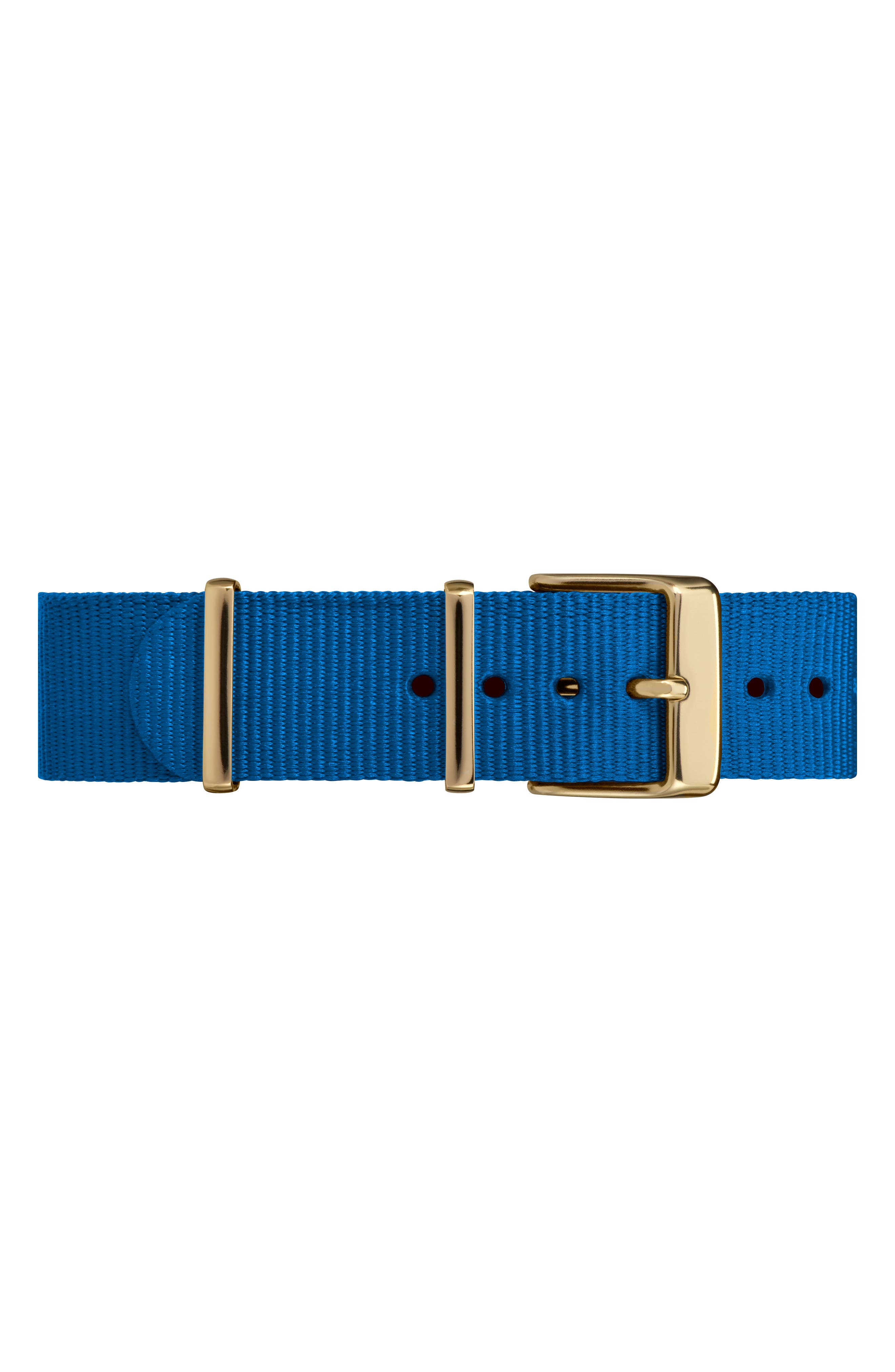 Fairfield Nylon Strap Watch, 37mm,                             Alternate thumbnail 8, color,