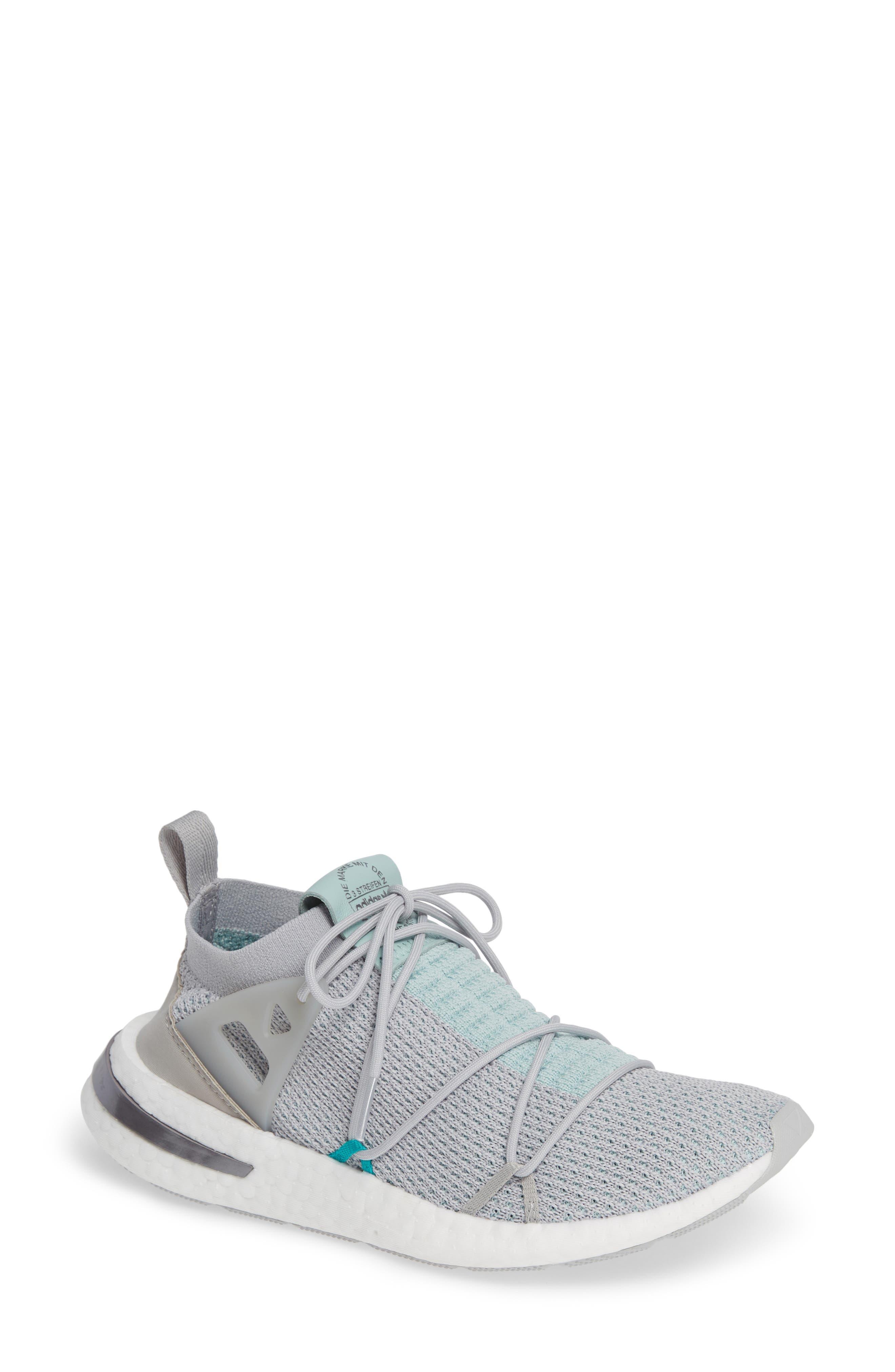 Arkyn Primeknit Sneaker,                         Main,                         color, GREY TWO/ GREY TWO/ ASH GREEN