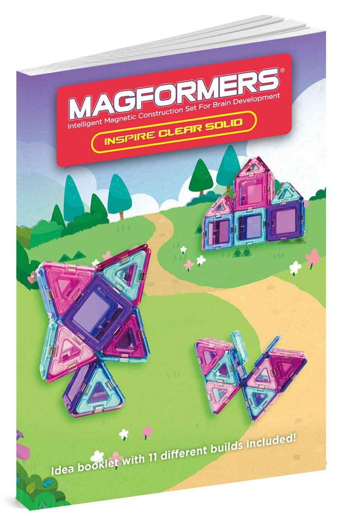 'Inspire - Solids' Clear Magnetic 3D Construction Set,                             Alternate thumbnail 5, color,                             440
