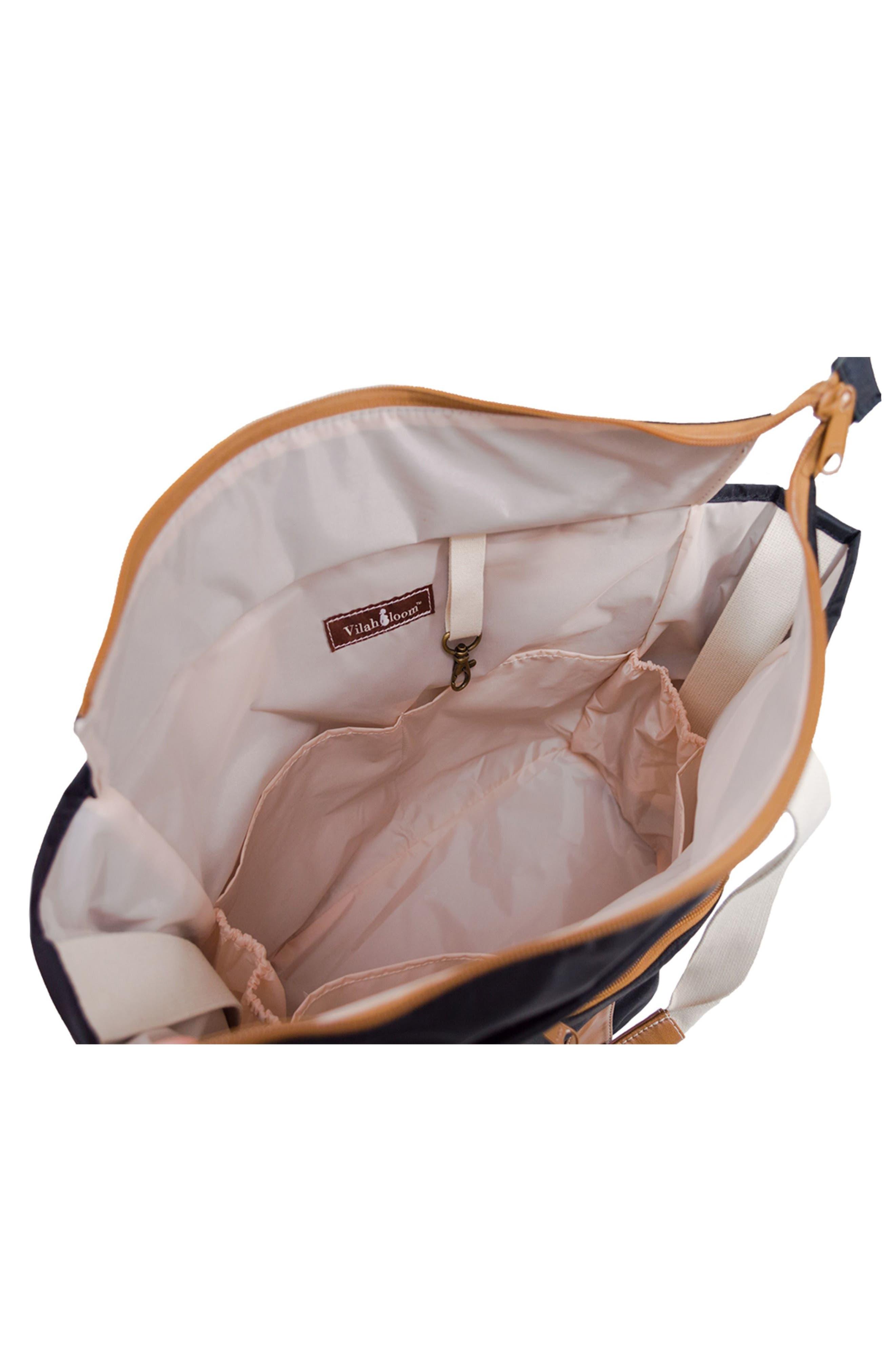 Harbor Side Tote Diaper Bag,                             Alternate thumbnail 4, color,                             001
